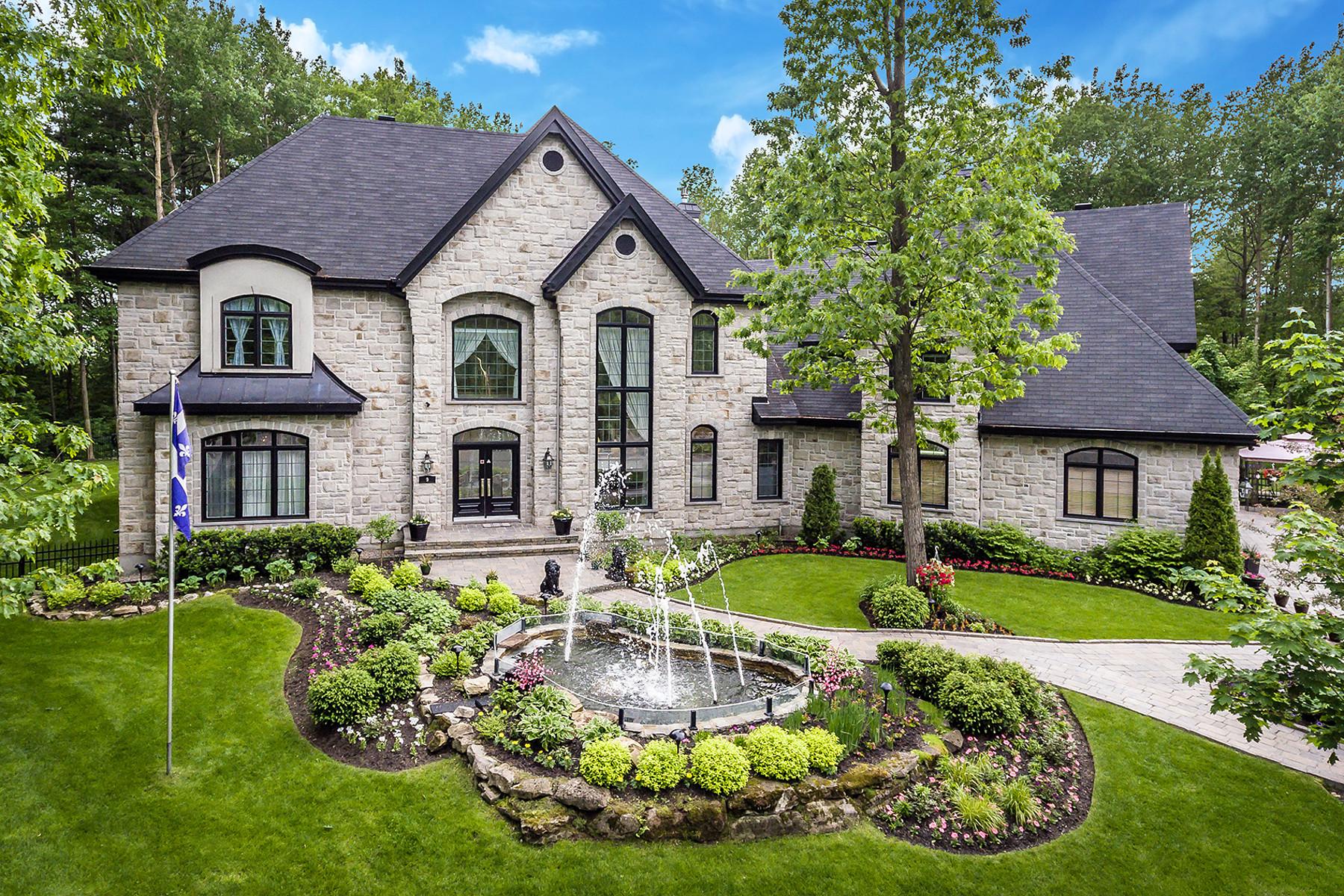 Single Family Homes for Sale at 9 Place de la Falaise Terrebonne, Quebec J6Y1Z6 Canada