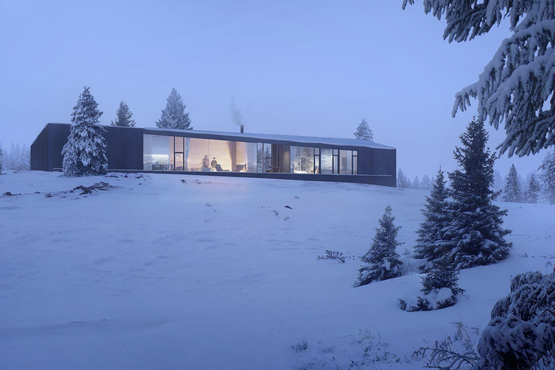 Nhà ở một gia đình vì Bán tại I House at Carraig Ridge 38 Carraig Ridge, Ghost Lake, Alberta, T0L 1N0 Canada