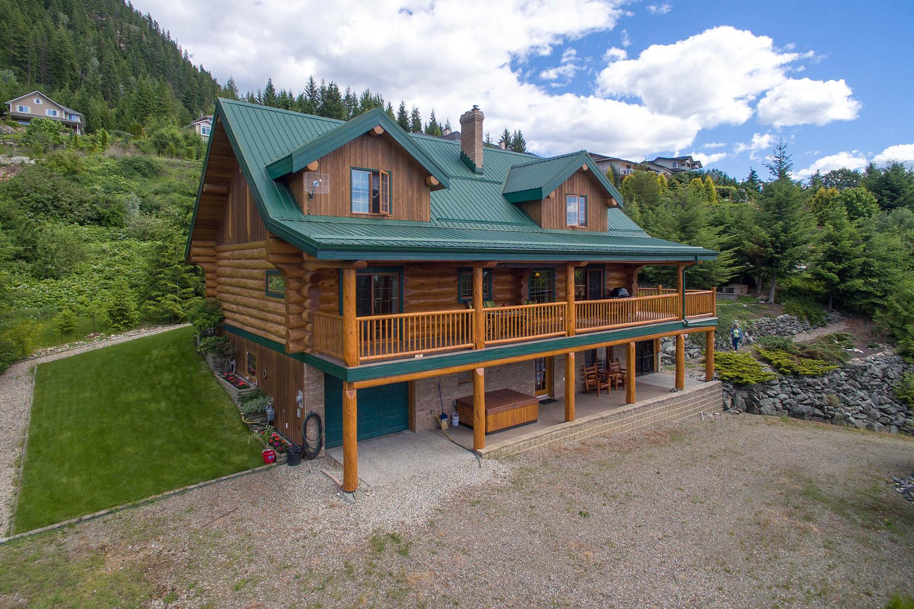 Einfamilienhaus für Verkauf beim Fine Piece of Canadiana 3505 McBride Rd Blind Bay, Britisch-Kolumbien, V0E 1H1 Kanada