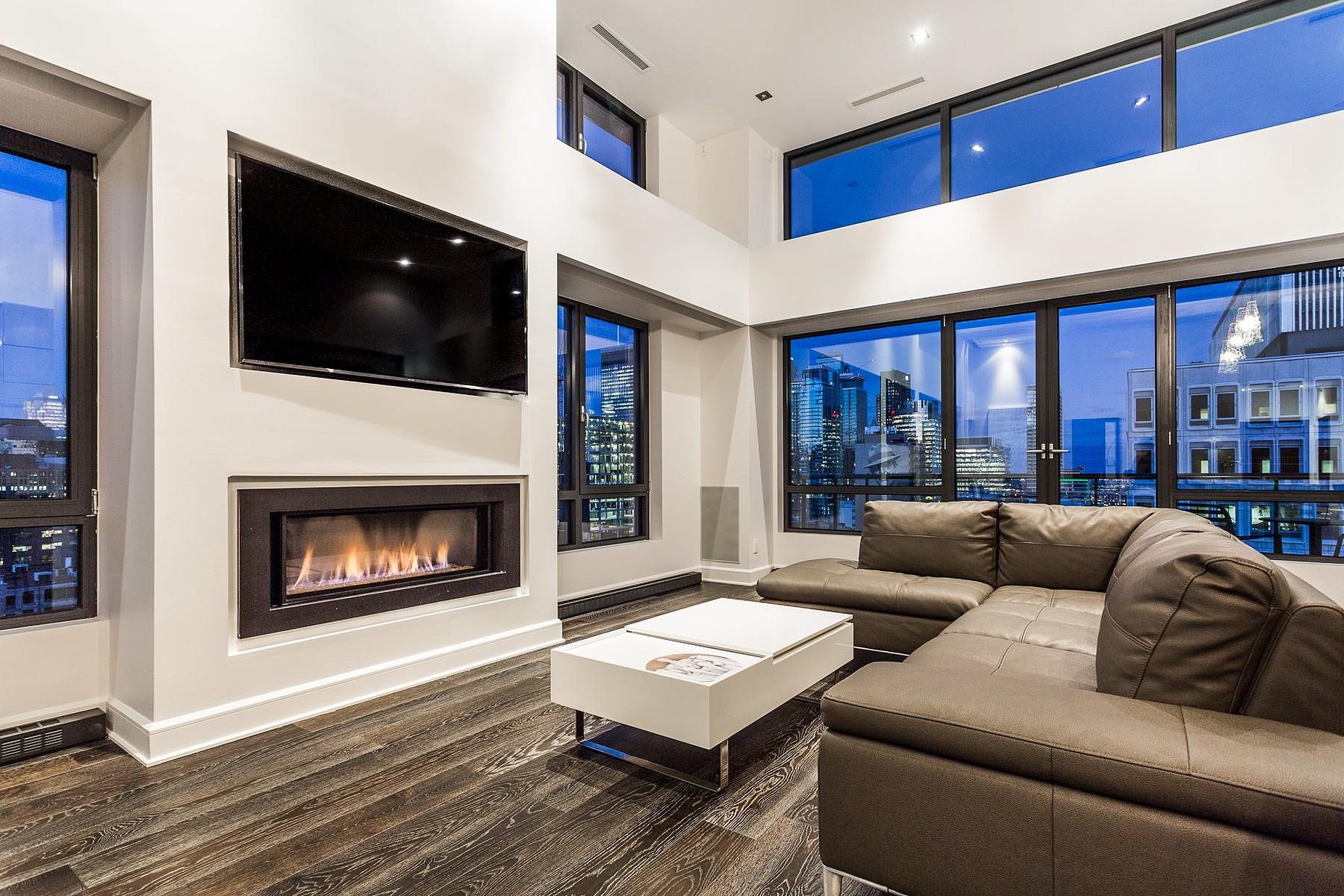 共管式独立产权公寓 为 销售 在 Ville-Marie, Montréal 1420 Rue Sherbrooke O., Apt. PH2, Ville-Marie, 魁北克省, H3G1K4 加拿大