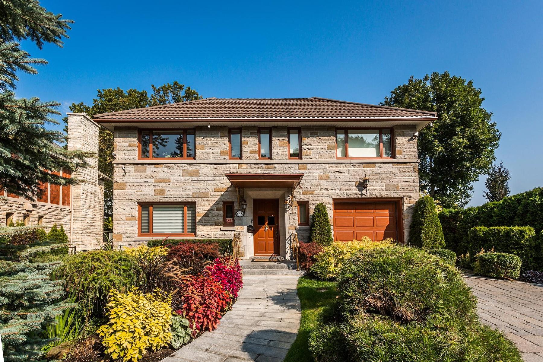 단독 가정 주택 용 매매 에 Outremont, Montréal 155 Av. Maplewood, Outremont, 퀘벡주, H2V2M4 캐나다