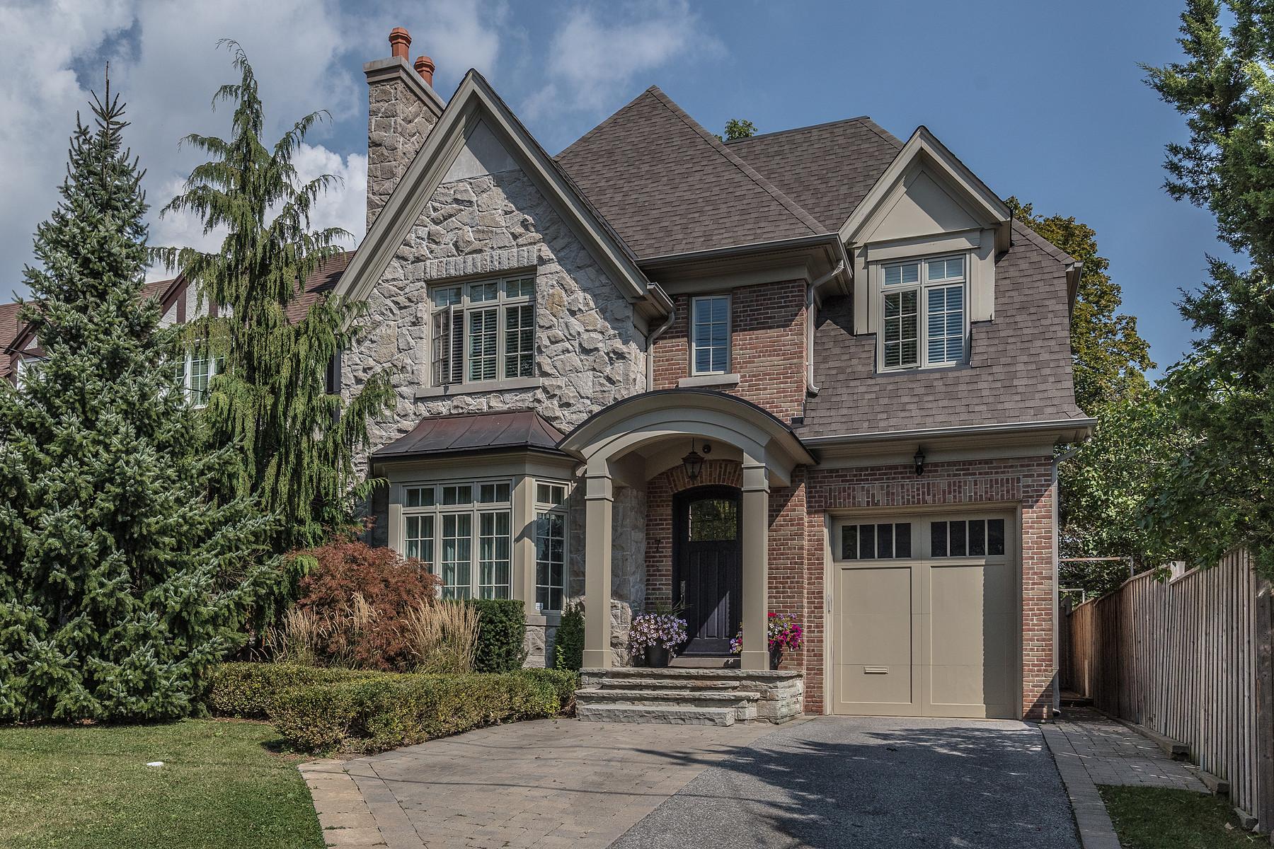 独户住宅 为 销售 在 Lawrence Park 7 Strathgowan Cres, 多伦多, 安大略省, M4N2Z6 加拿大