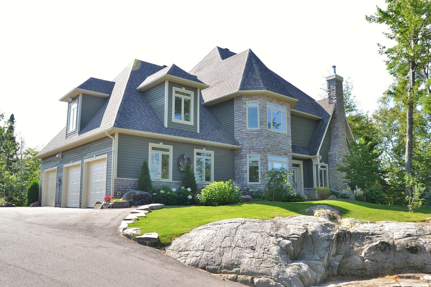 Single Family Home for Sale at Sainte-Adèle, Laurentides 2105 Ch. de l'Ermitage Sainte-Adele, Quebec, J8B0A9 Canada