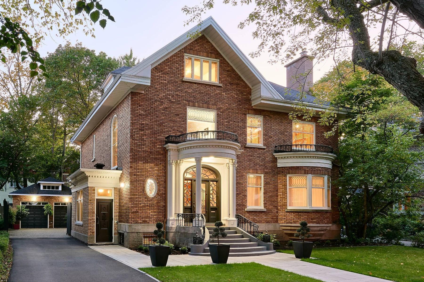 Single Family Homes for Sale at Sumptuous Montcalm Residence 1110 Av. De Bougainville Quebec, Quebec G1S3A8 Canada
