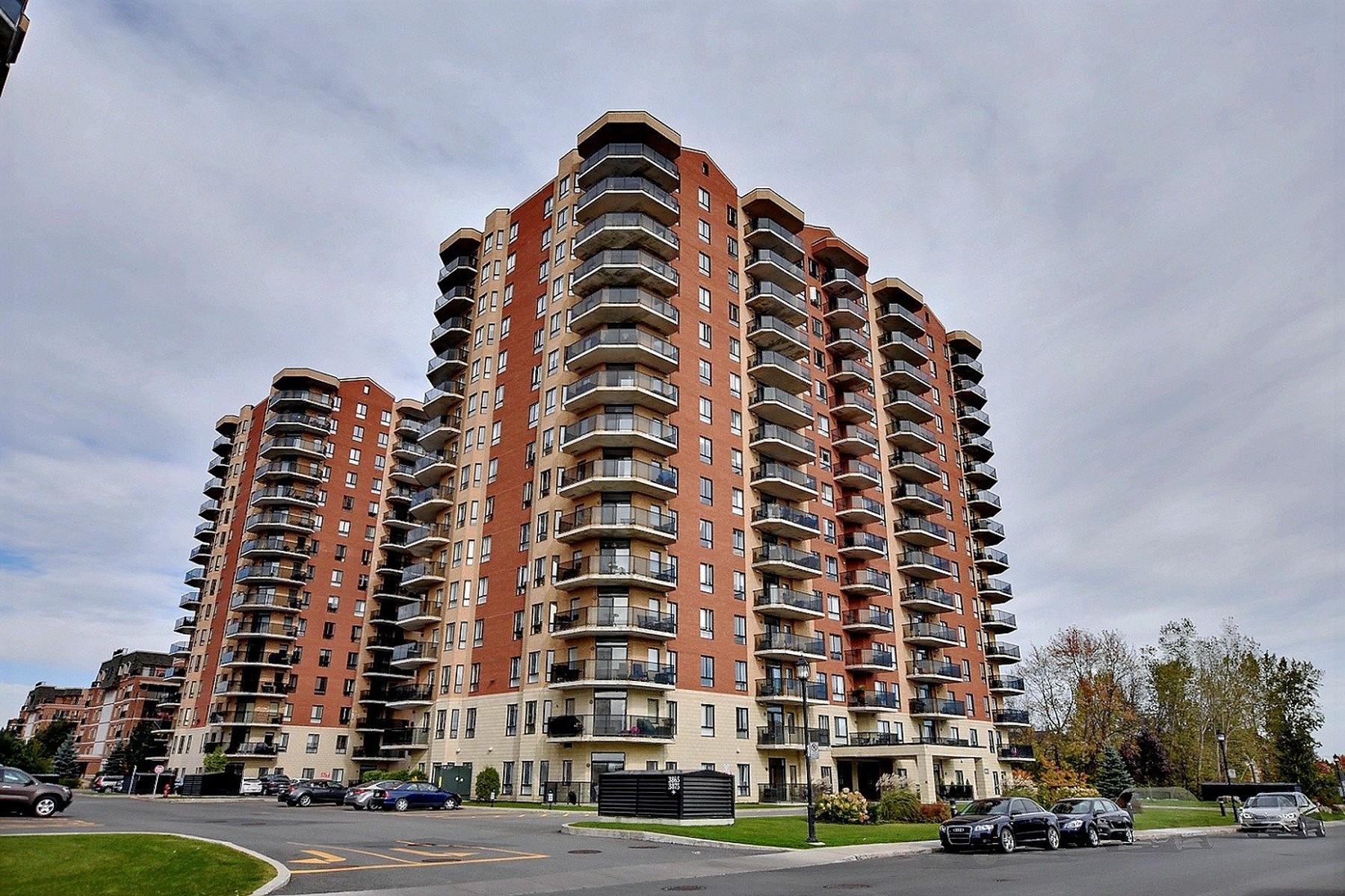 共管式独立产权公寓 为 销售 在 Chomedey, Laval 3855 Boul. de Chenonceau, Apt. 1501, 寿米蒂, 魁北克省, H7T0C8 加拿大