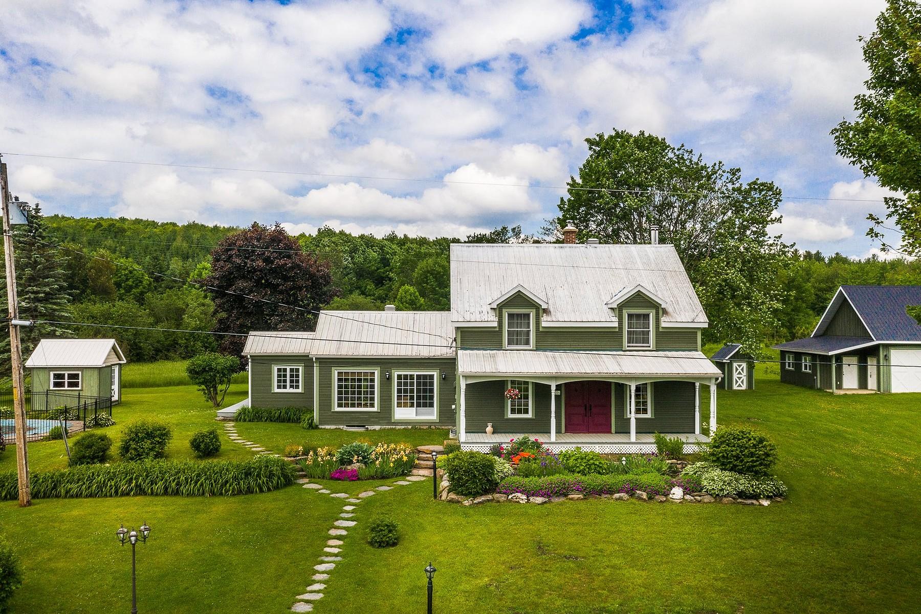 Single Family Homes for Sale at Frelighsburg, Montérégie 106 Ch. du Verger-Modèle Frelighsburg, Quebec J0J1C0 Canada
