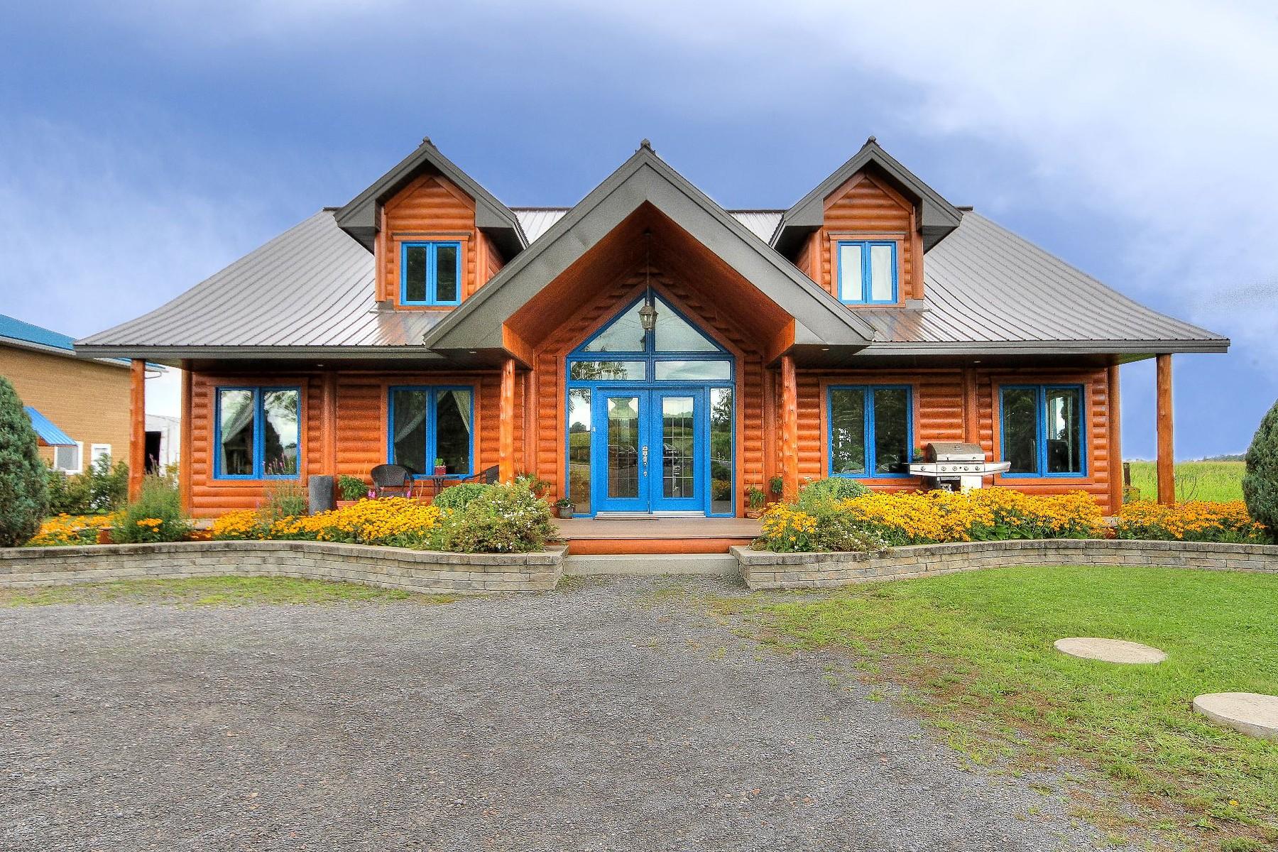 Hacienda / Granja / Rancho / Plantación por un Venta en Saint-Michel, Montérégie 1072 Rue Principale Saint-Michel, Quebec, J0L2J0 Canadá
