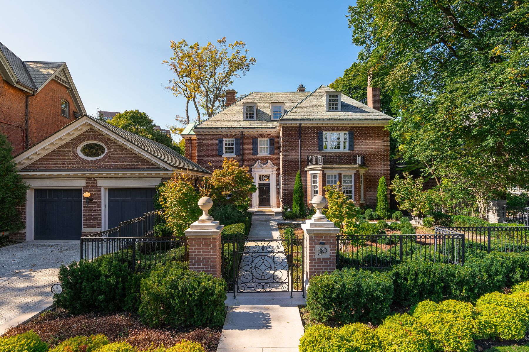 Single Family Home for Sale at Sophisticated Rosedale Living 30 Rosedale Road Toronto, Ontario M4W 2P3 Canada