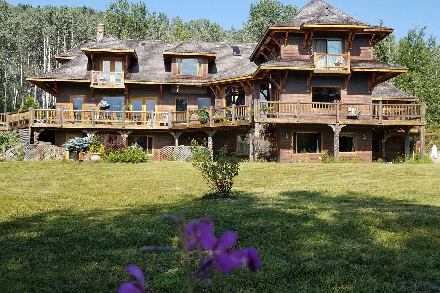 Single Family Homes for Sale at Post and Beam Ranch 22323 Telkwa High Road Smithers, British Columbia V0J 2N7 Canada