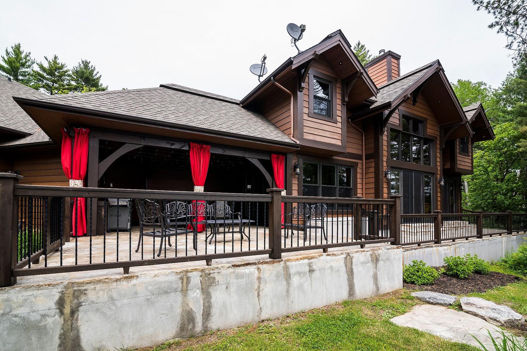 واحد منزل الأسرة للـ Sale في Lac-du-Cerf, Laurentides 22 Ch. du Cerf, Lac-Du-Cerf, Quebec, J0W1S0 Canada
