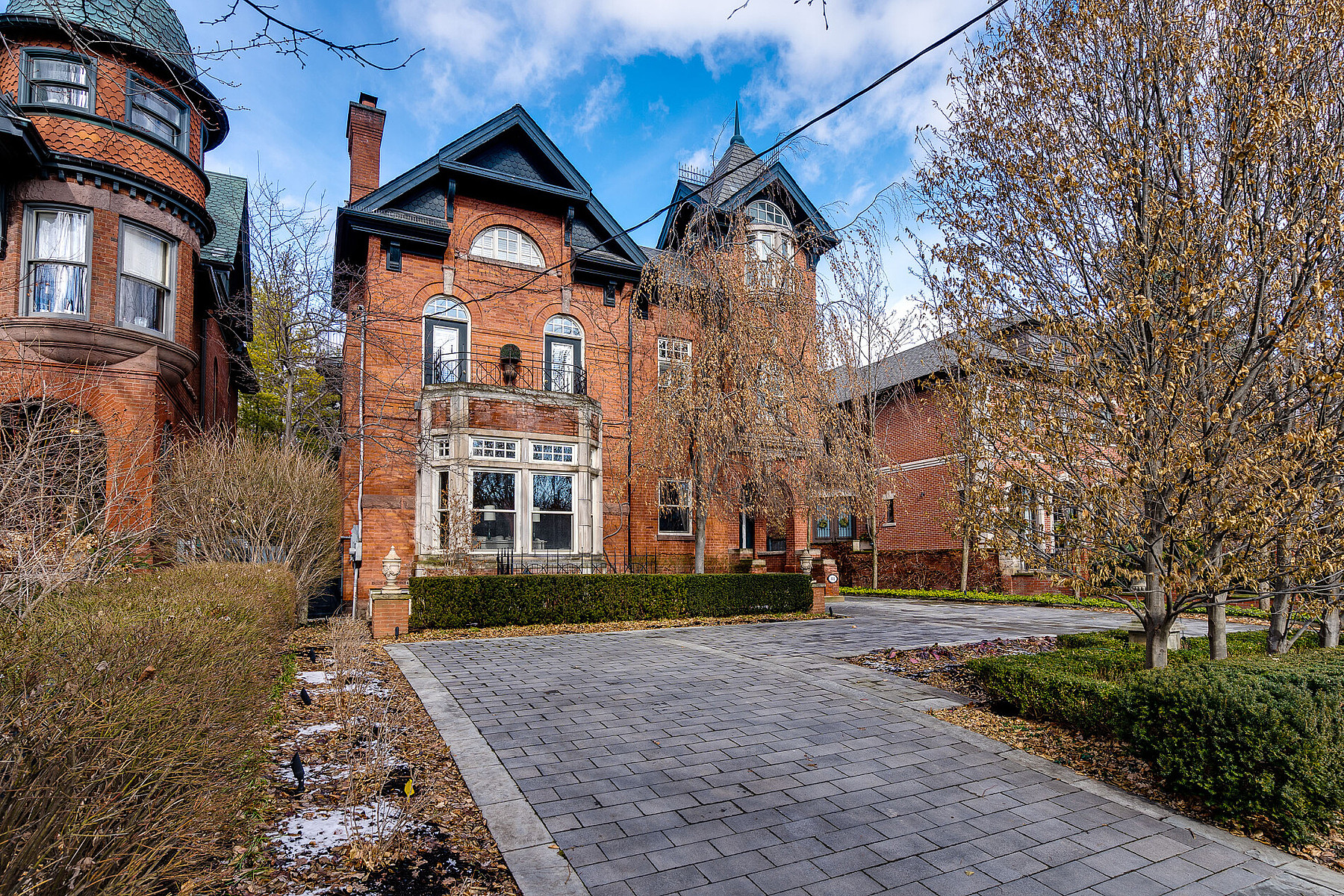 Single Family Homes for Sale at Sophisticated Rosedale Living 88 South Drive Toronto, Ontario M4W 1R6 Canada