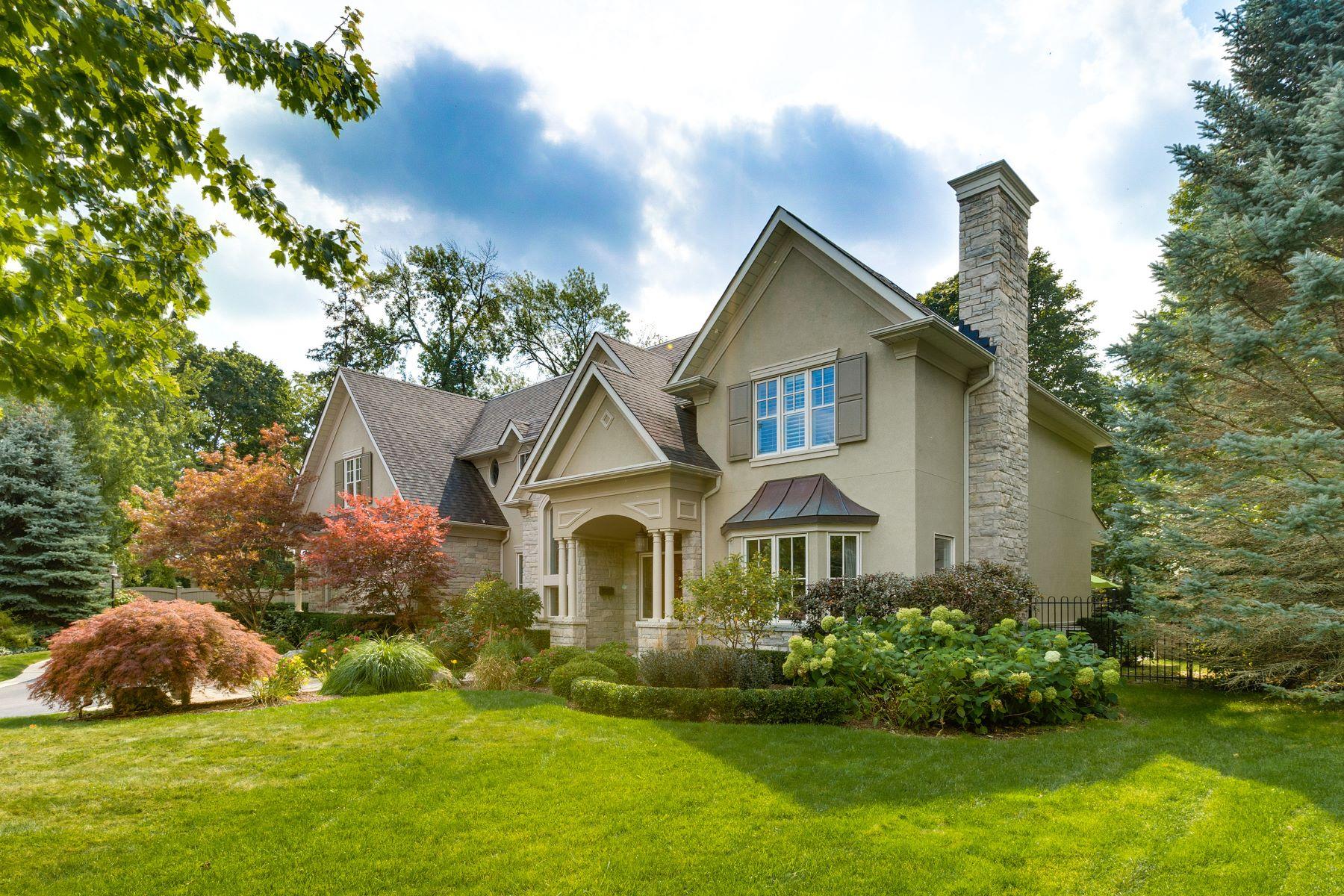 Villa per Vendita alle ore Luxury Home on Private Court 108 Parkwood Court, Oakville, Ontario, L6J7W6 Canada