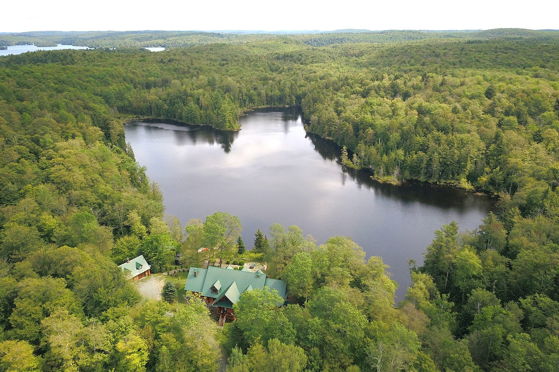 Single Family Homes for Sale at Wentworth-Nord, Laurentides 3218 Ch. de la Baie-Noire Wentworth-Nord, Quebec J0T1Y0 Canada