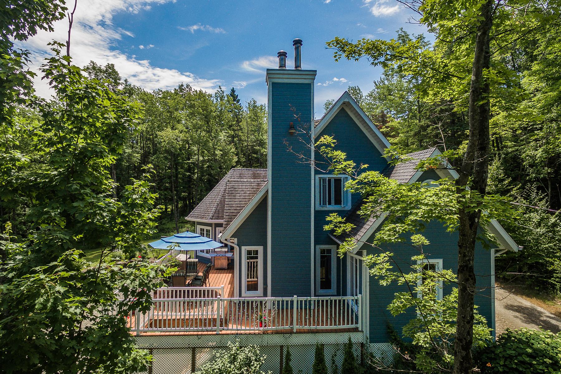 Single Family Home for Sale at Eastman, Estrie 22 Ch. des Castors, Eastman, Quebec, J0E1P0 Canada
