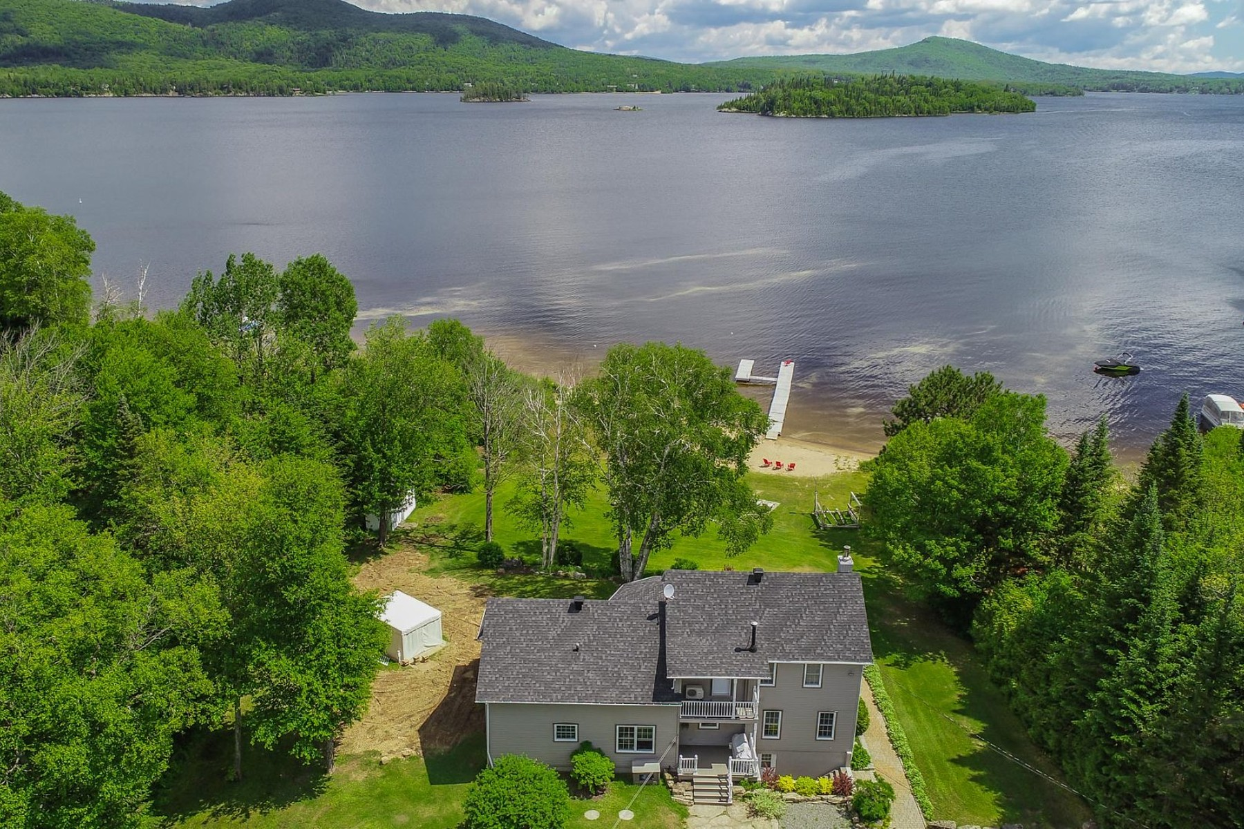 Single Family Homes for Sale at Saint-Donat, Lanaudière 2147 Route 125 S. Saint-Donat, Quebec J0T2C0 Canada