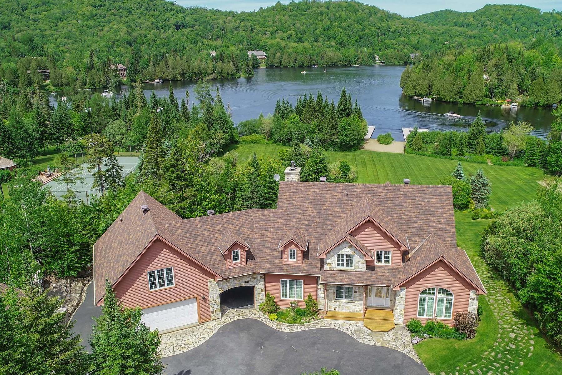 Single Family Homes for Sale at Saint-Adolphe-d'Howard, Laurentides 113 Ch. de Chenonceaux Saint-Adolphe-D'howard, Quebec J0T2B0 Canada