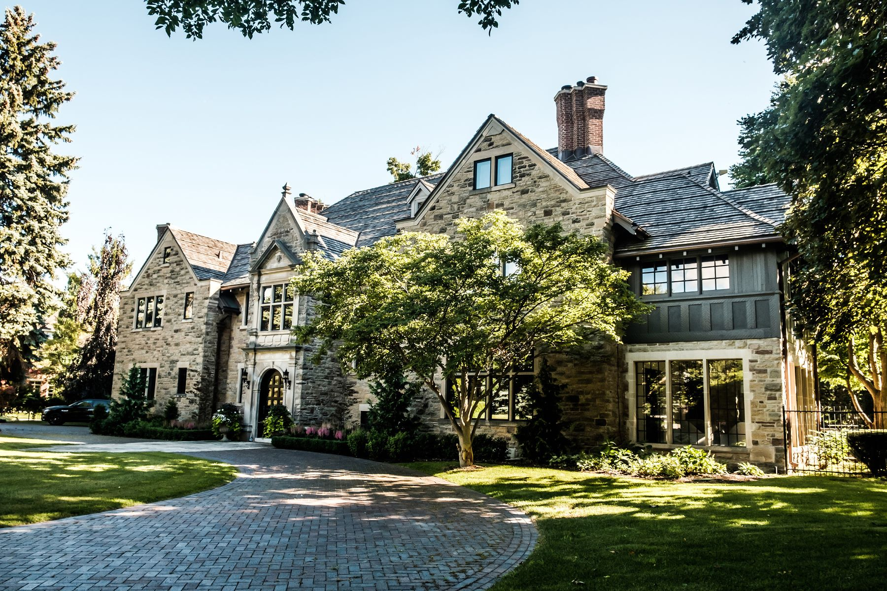 Single Family Home for Sale at Magnificent stone mansion 15 Oakley Place Toronto, Ontario M2P 2G3 Canada
