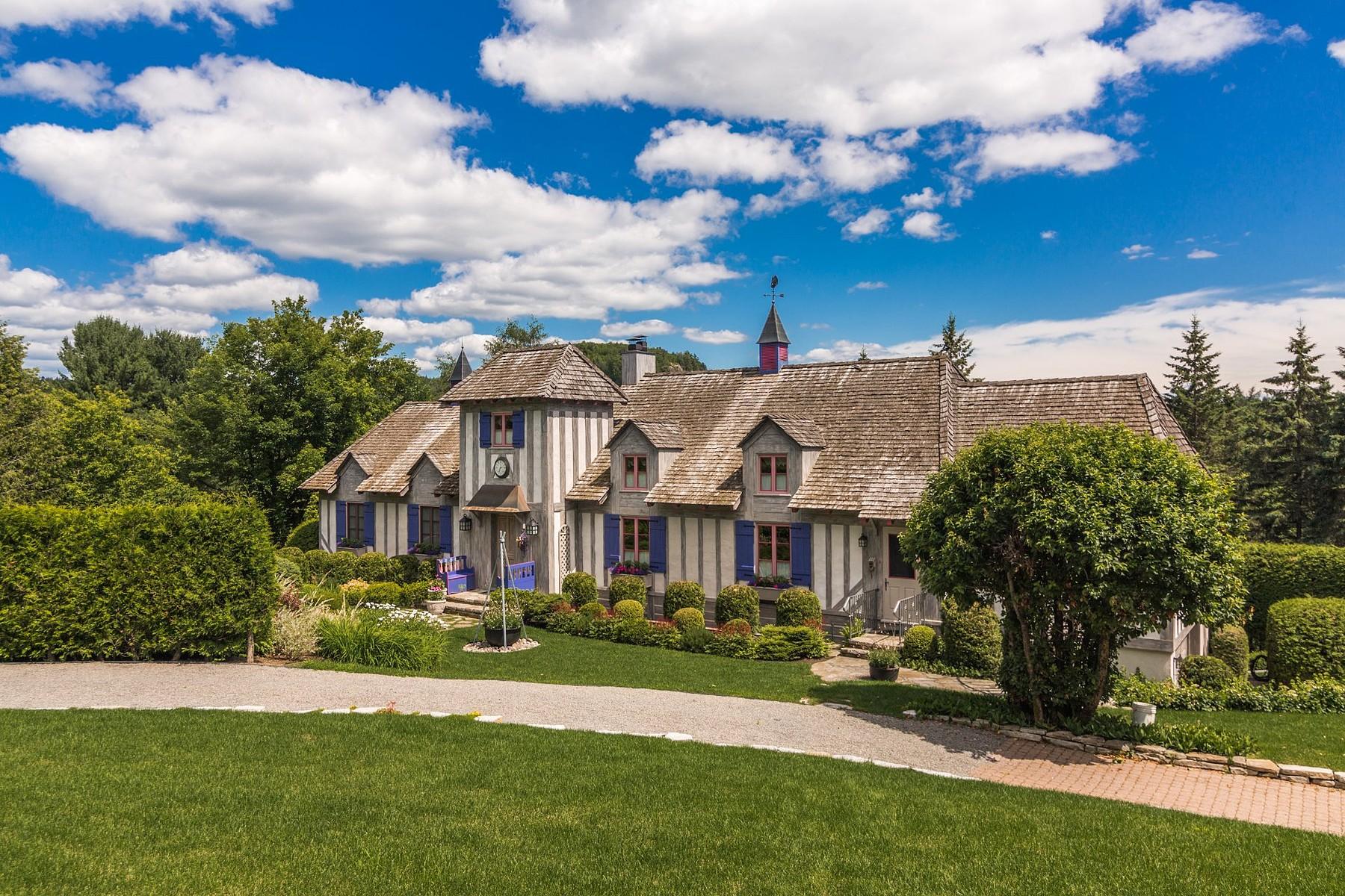 独户住宅 为 销售 在 Timeless Elegance 170 Ch. de la Rivière-à-Simon, 圣索弗, 魁北克省, J0R1R7 加拿大
