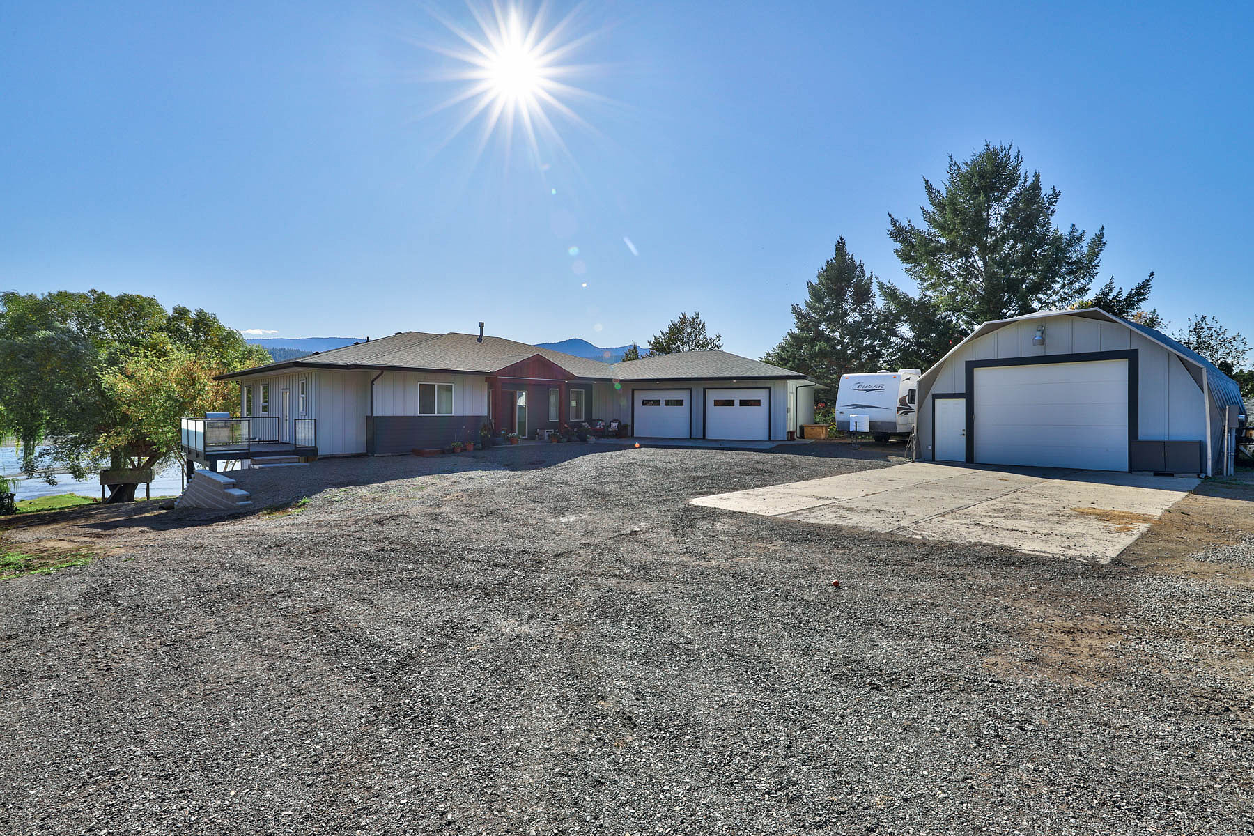 Single Family Homes for Sale at Riverfront Acreage 3770 Shuswap Road East Kamloops, British Columbia V2H 1S6 Canada