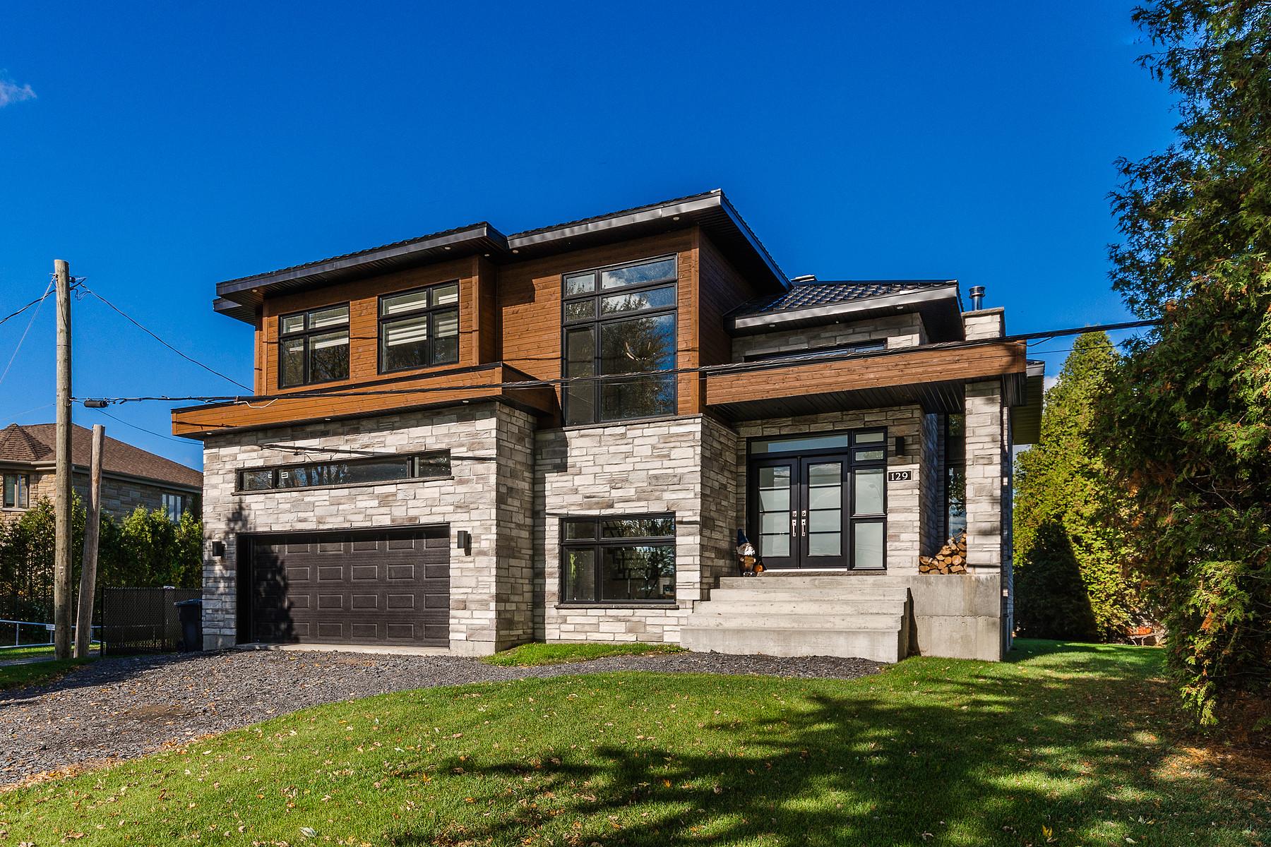 独户住宅 为 销售 在 Sainte-Barbe, Montérégie 129 Ch. du Bord-de-l'Eau Sainte-Barbe, 魁北克省, J0S1P0 加拿大