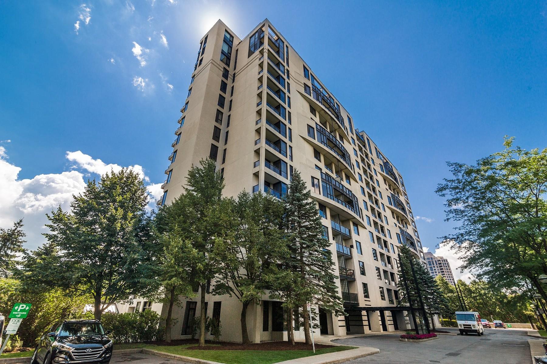Appartement en copropriété pour l Vente à UnIque transversal condo 100 Rue Hall, Apt. 1204 Verdun Ile Des Soeurs, Québec, H3E1B3 Canada