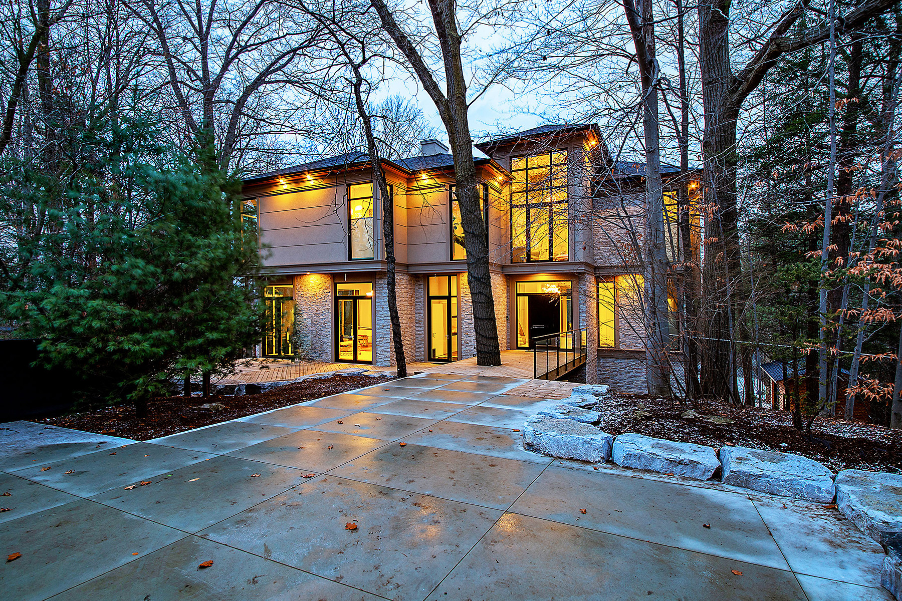 Single Family Home for Sale at Inspired Contemporary Estate 18A Westmount Park Rd Toronto, Ontario M9P 1R5 Canada