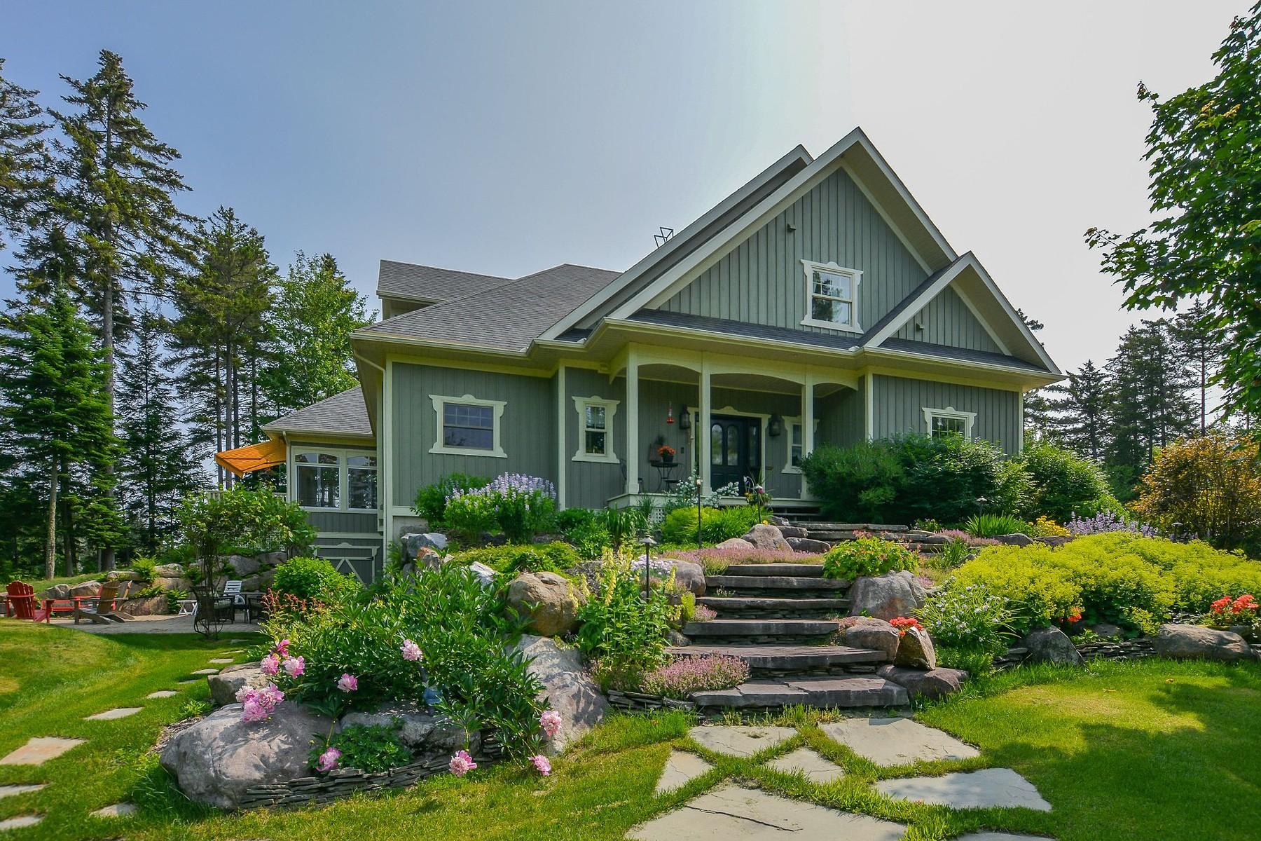 Single Family Homes for Sale at Saint-Adolphe-d'Howard, Laurentides 350 Ch. du Lac-Cornu Saint-Adolphe-D'howard, Quebec J0T2B0 Canada