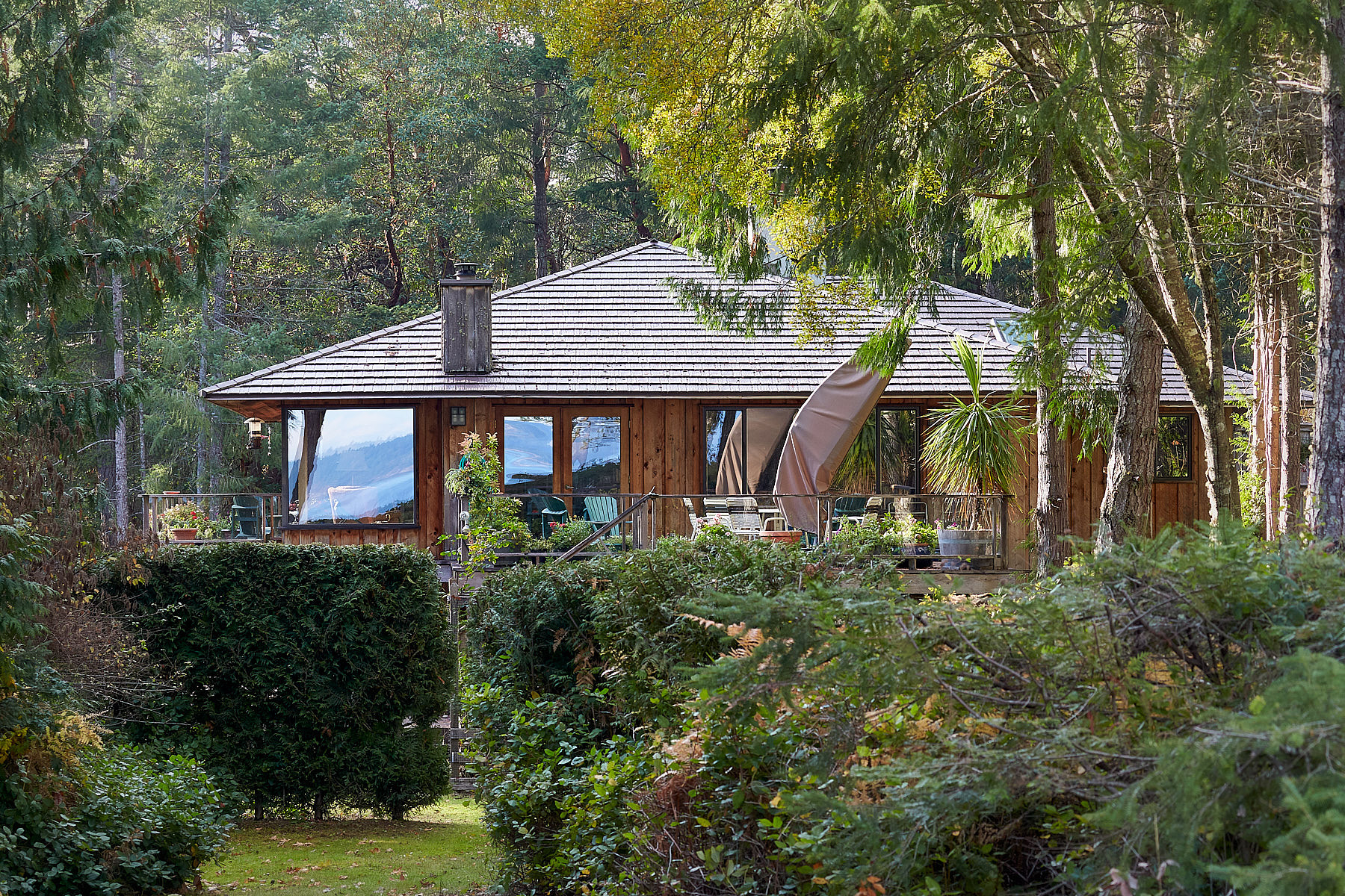 Casa Unifamiliar por un Venta en Ocean View Schubart 1240 Nose Point Road, Salt Spring Island, British Columbia, V8K 1K6 Canadá