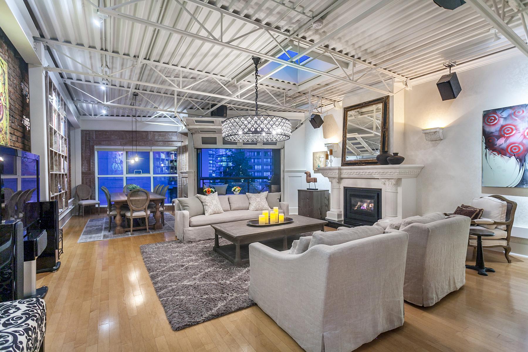 公寓 為 出售 在 Luxury Penthouse in Yaletown PH501 1230 Hamilton Street, Vancouver, 不列顛哥倫比亞省, V6B2S8 加拿大