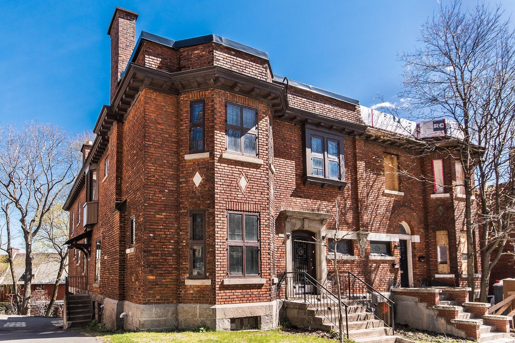 Single Family Homes 为 销售 在 Ville-Marie, Montréal 1766 Av. Cedar 蒙特利尔, 魁北克省 H3G1A3 加拿大