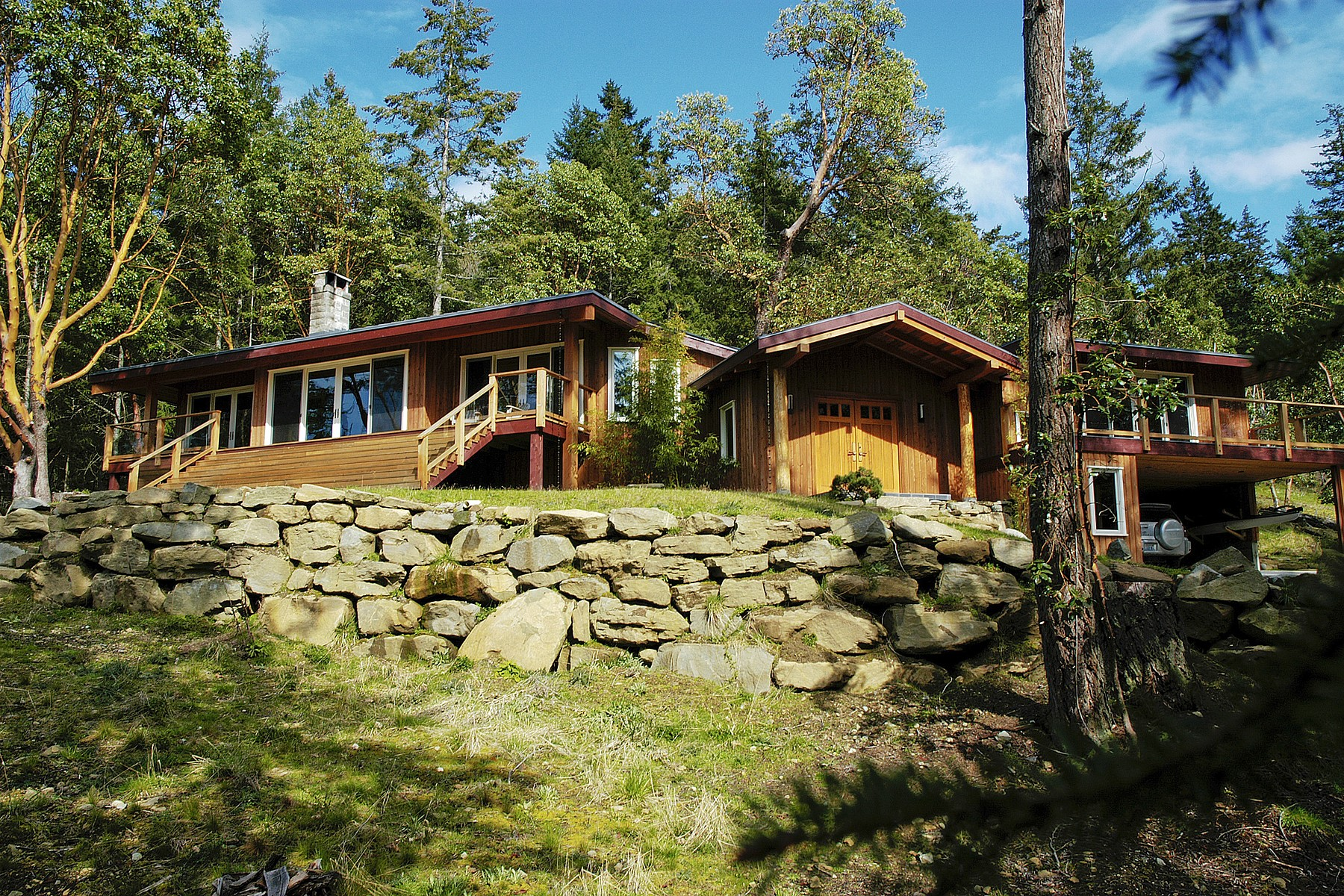 Casa Unifamiliar por un Venta en Pure Design - Outstanding Views 203 Pringle Farm Road, Salt Spring Island, British Columbia, V8K 2Y2 Canadá