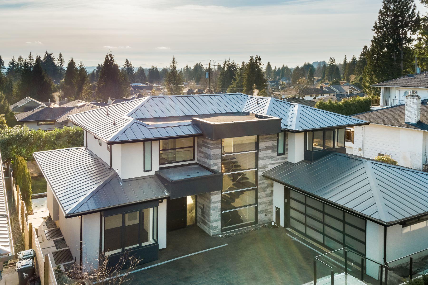 단독 가정 주택 용 매매 에 Edgemont New Home. 925 Beaumont Drive, North Vancouver, 브리티시 컬럼비아주, V7R 1P5 캐나다