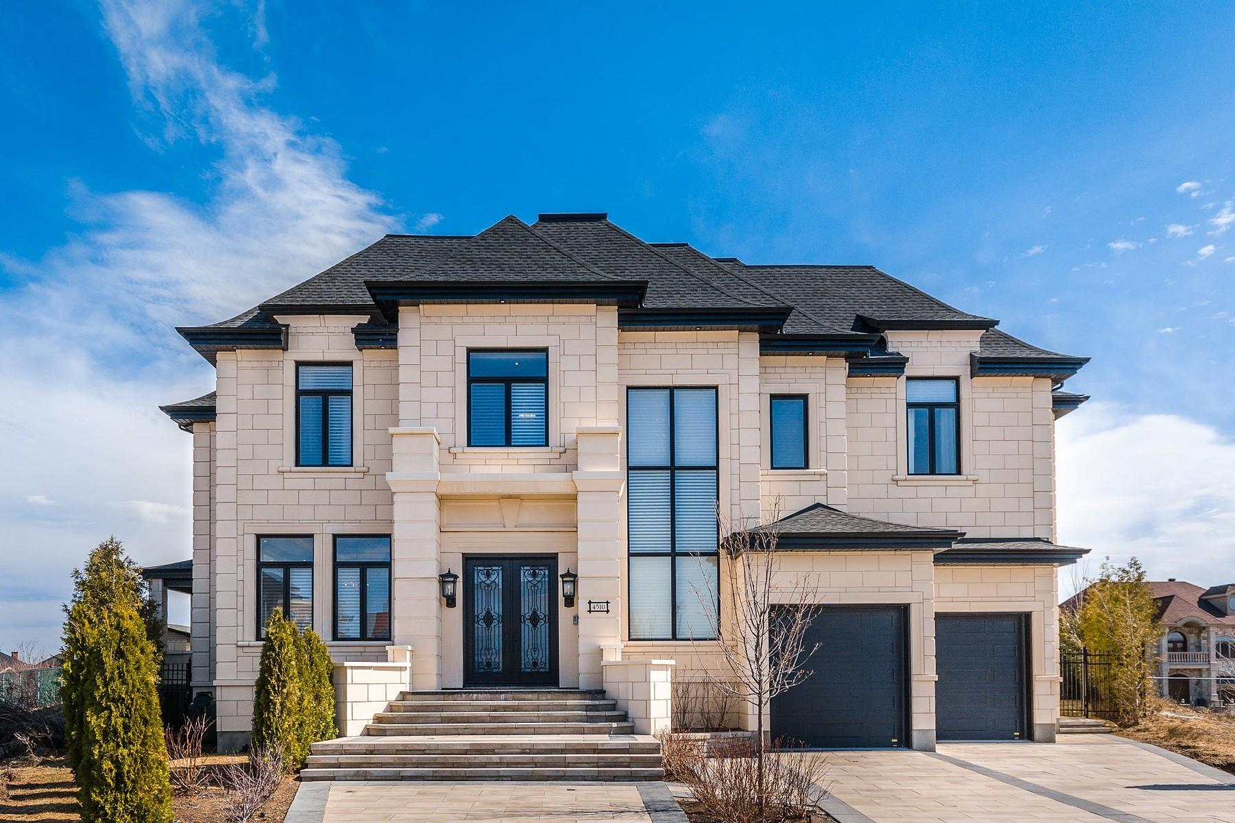 단독 가정 주택 용 매매 에 Saint-Laurent, Montréal 4510 Place Sam-Borenstein, Saint-Laurent, 퀘벡주, H4R0H9 캐나다