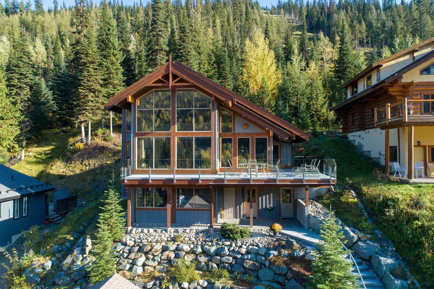 Single Family Homes for Sale at Mountain Home 2417 Fairways Drive Sun Peaks, British Columbia V0E 5N0 Canada