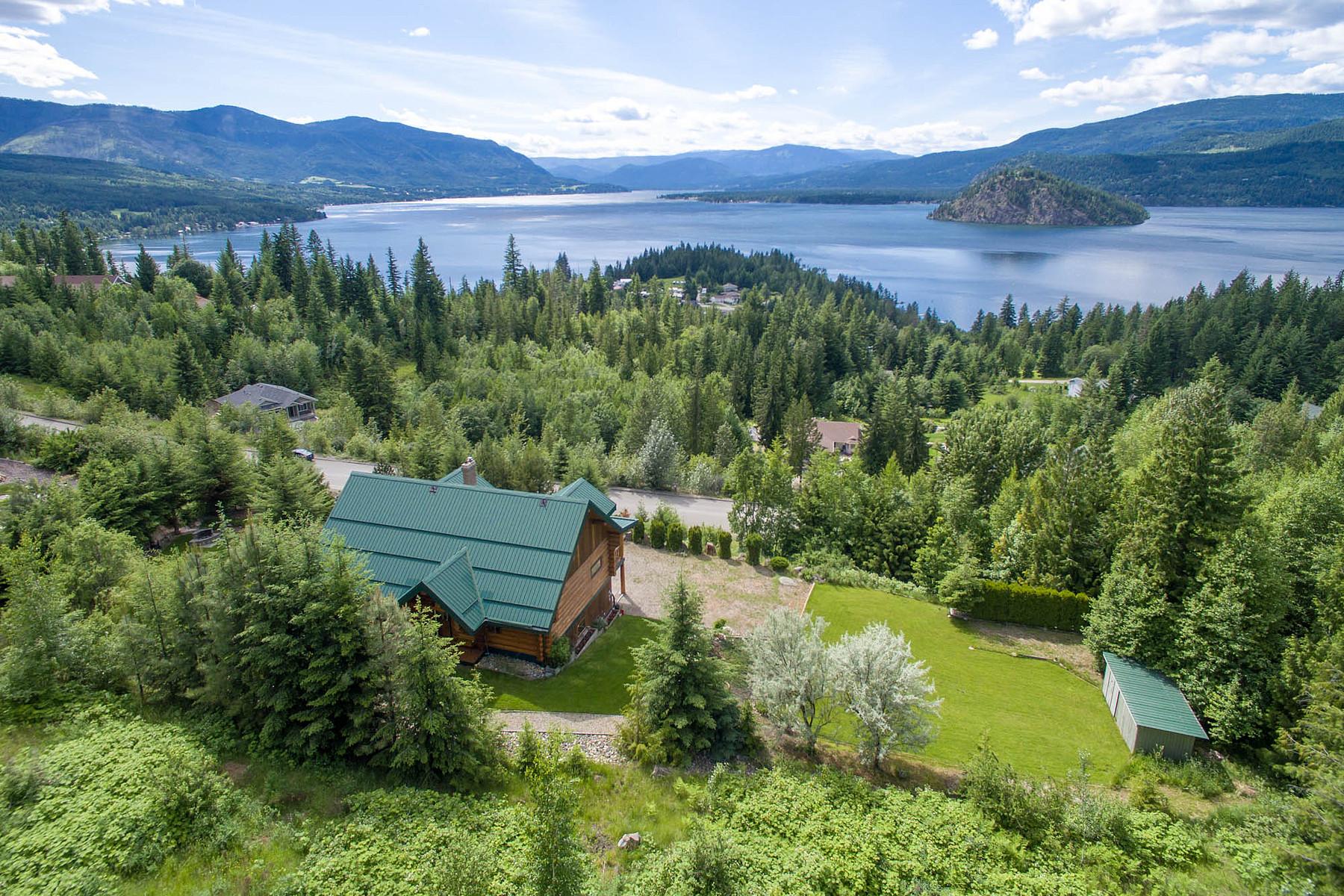 Частный односемейный дом для того Продажа на Fine Piece of Canadiana 3505 McBride Rd, Blind Bay, Британская Колумбия, V0E 1H1 Канада