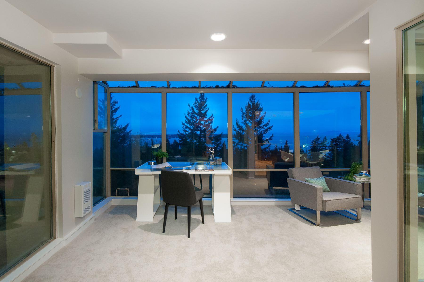 Casa unifamiliar adosada (Townhouse) por un Venta en Panoramic Ocean Views 3010 Deer Ridge Close, West Vancouver, British Columbia, V7S 4W1 Canadá