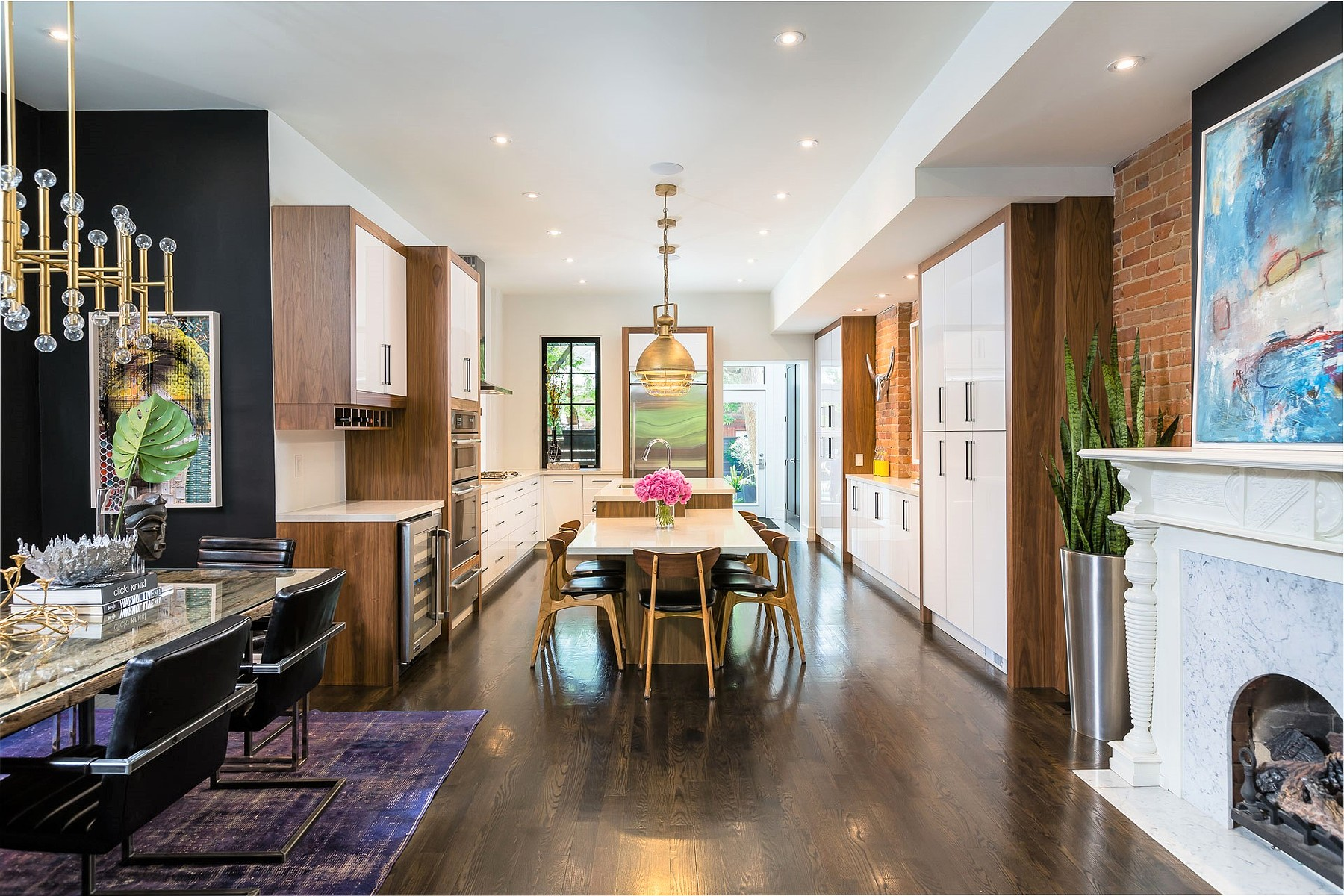 Single Family Home for Sale at Restored Modernized Expanded 155 Madison Ave Toronto, Ontario M5R2S6 Canada