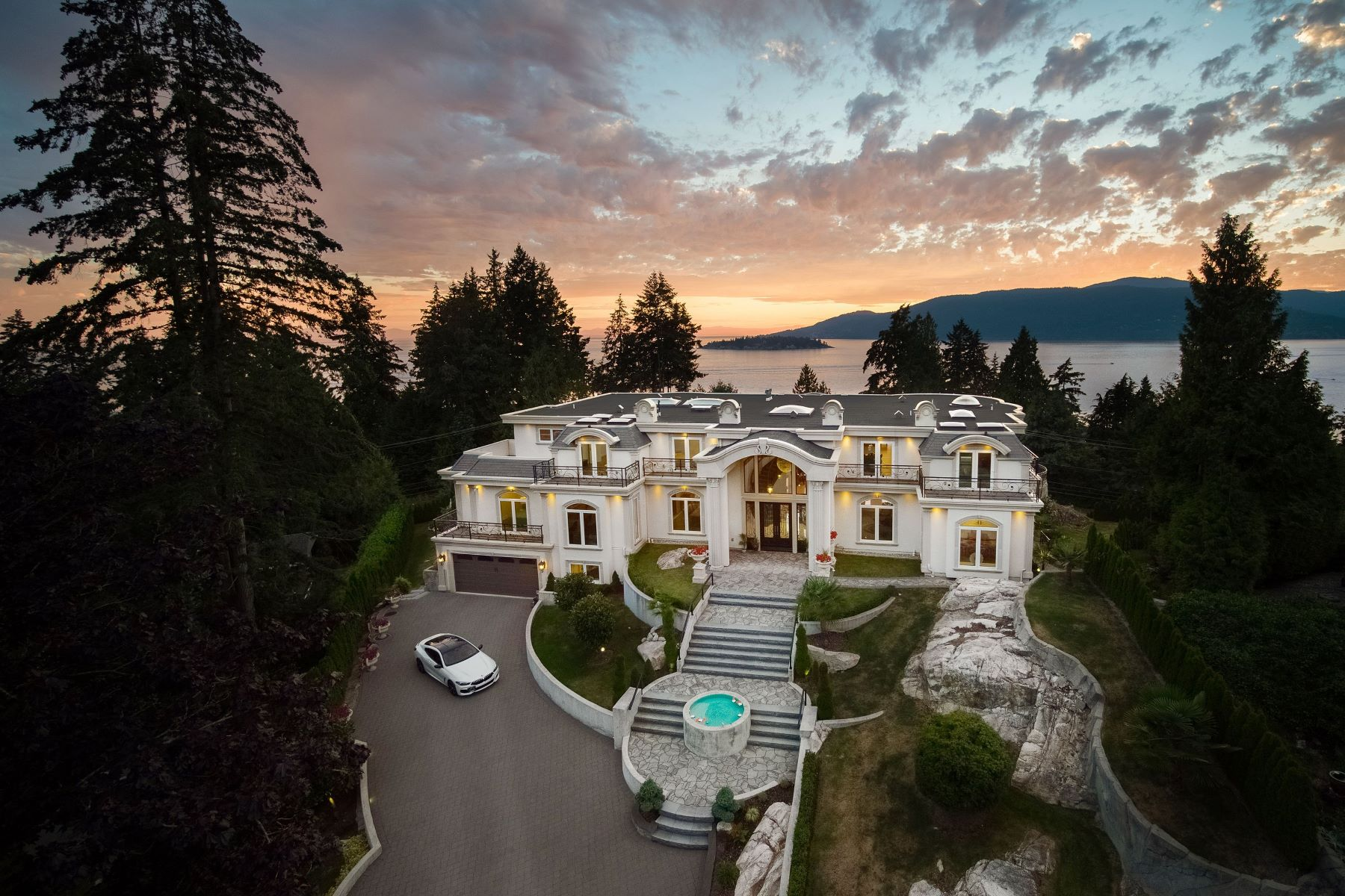 Single Family Homes for Sale at Italian Designer Mansion 5358 Kensington Crescent West Vancouver, British Columbia V7W 1M4 Canada