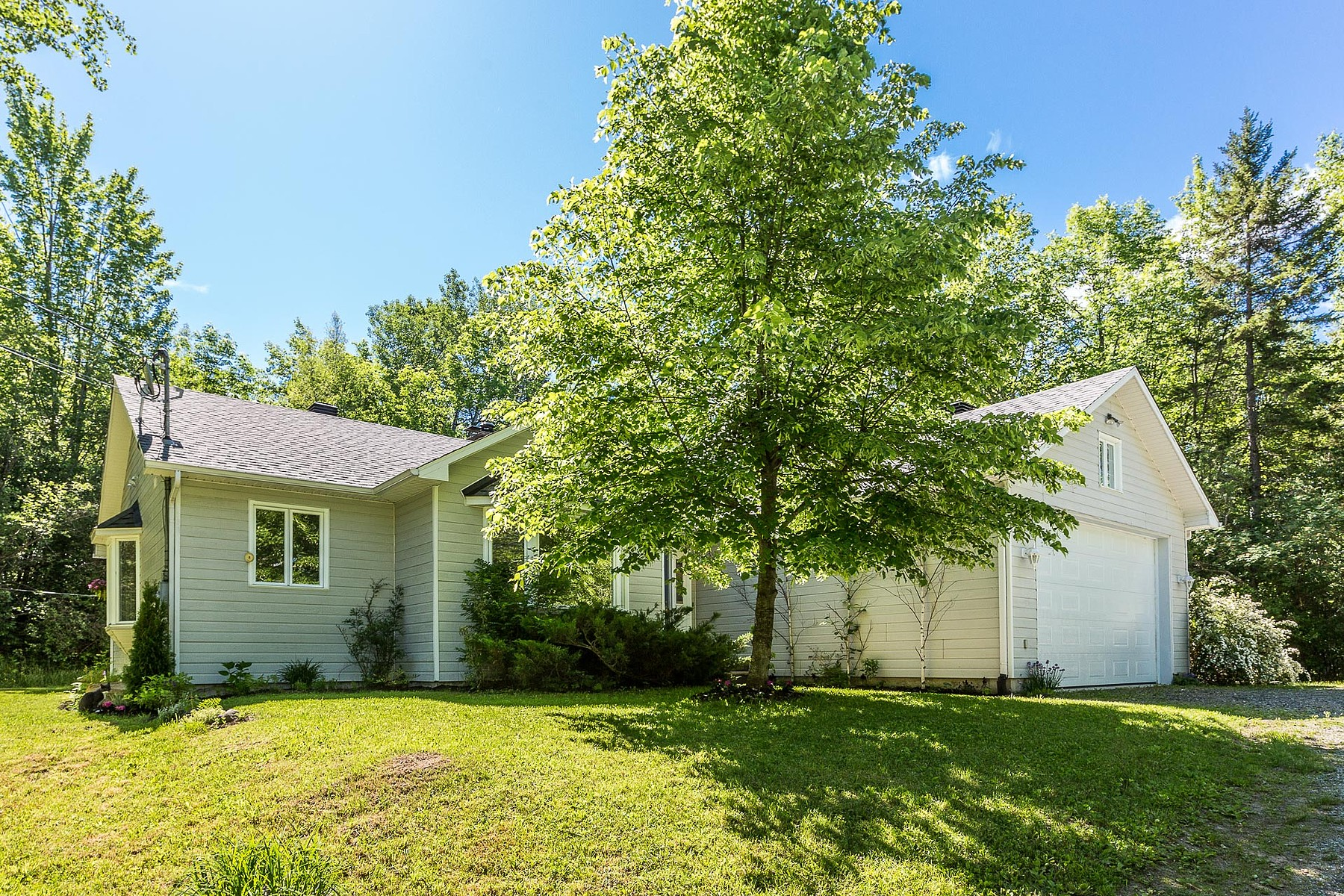 Single Family Home for Sale at 1.5 acre lot 112 Rue Jackson Heights Hatley Canton, Quebec, J0B2C0 Canada