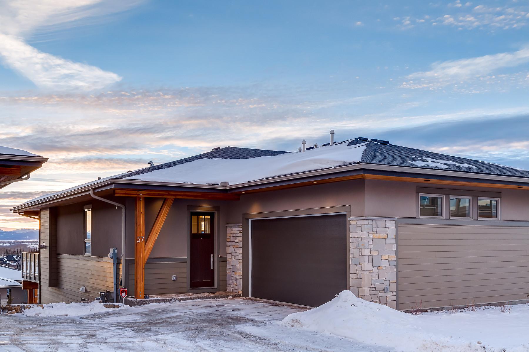 Maison unifamiliale pour l Vente à Rural Rocky View County, Rocky View 57 Watermark Villas Rural Rockyview County, Alberta, T3L 0E2 Canada