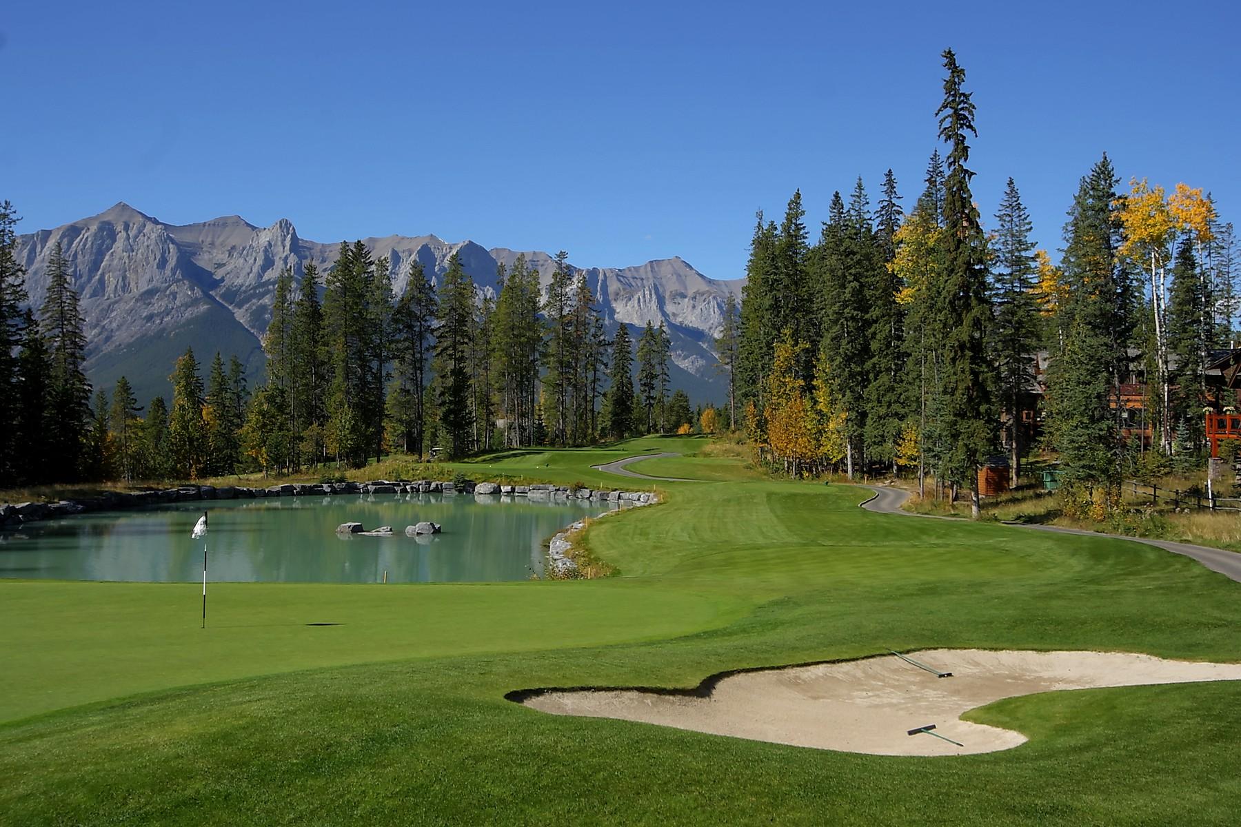 토지 용 매매 에 Silvertip Golf Course Lot 549 Silvertip Road, Canmore, 앨버타주, T1W 3H3 캐나다