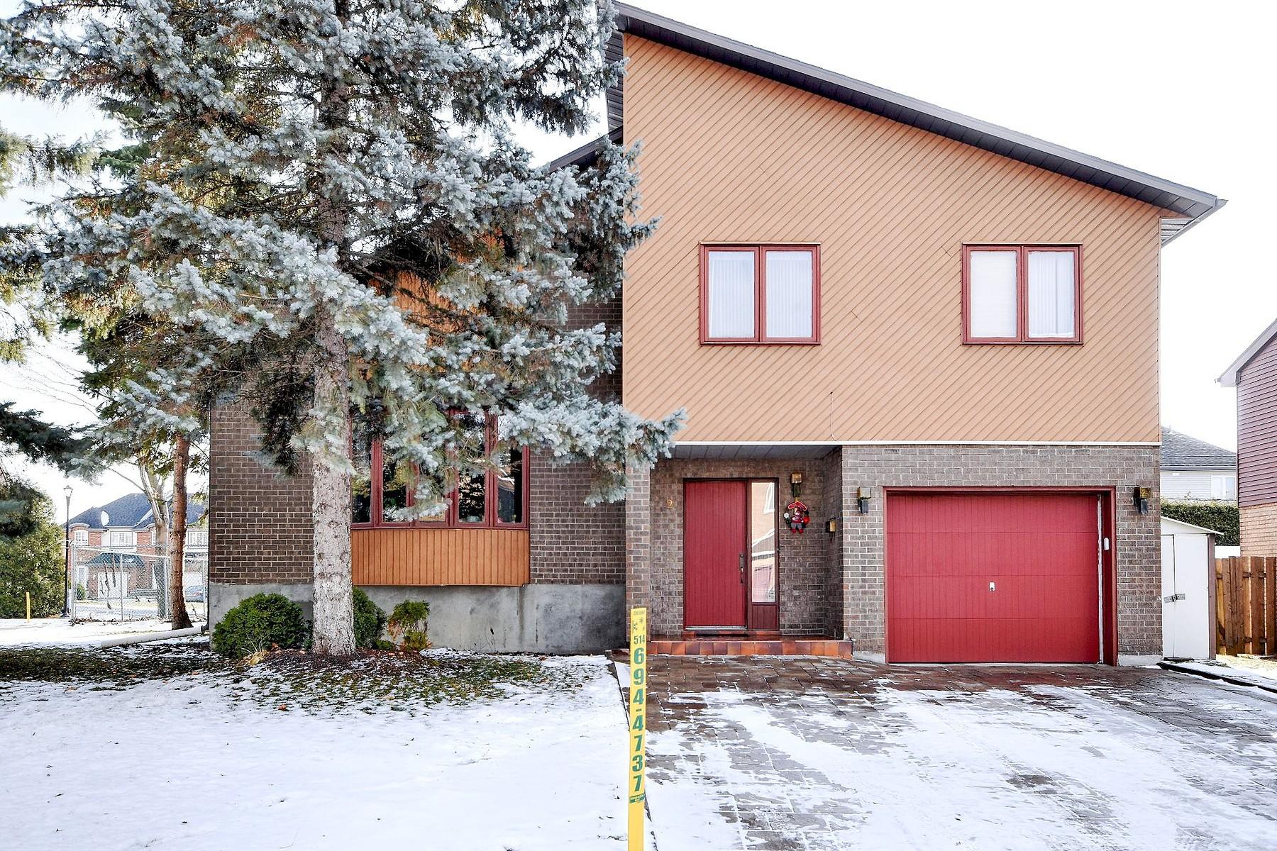 Single Family Homes for Sale at Kirkland, Montréal 2 Rue Ramses II Kirkland, Quebec H9J3V6 Canada