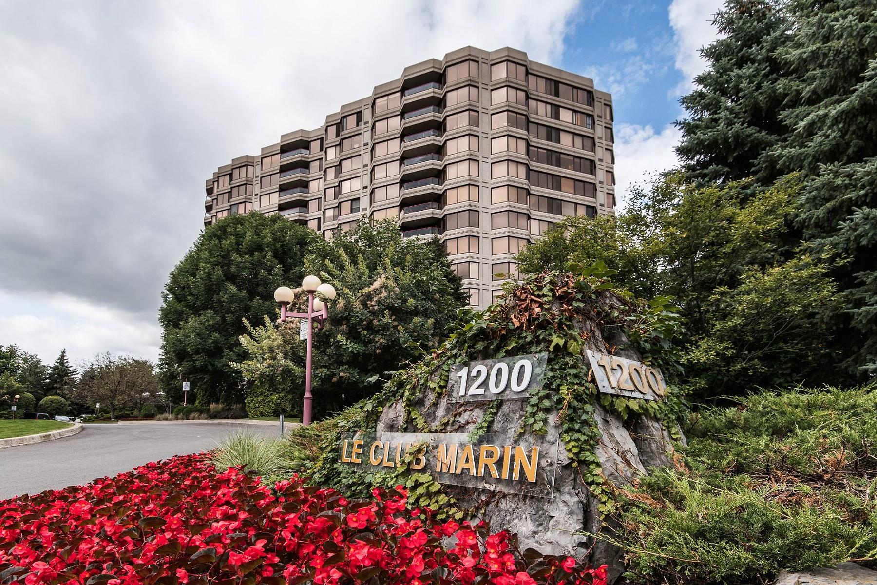 共管式独立产权公寓 为 销售 在 River garden style condo 1200 Ch. du Golf, Apt. 101, 凡尔登, 魁北克省, H3E1P5 加拿大
