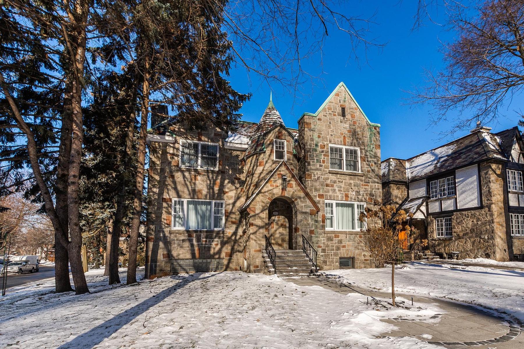 Single Family Homes for Sale at Outremont, Montréal 387 Ch. de la Côte-Ste-Catherine Outremont, Quebec H2V2B5 Canada