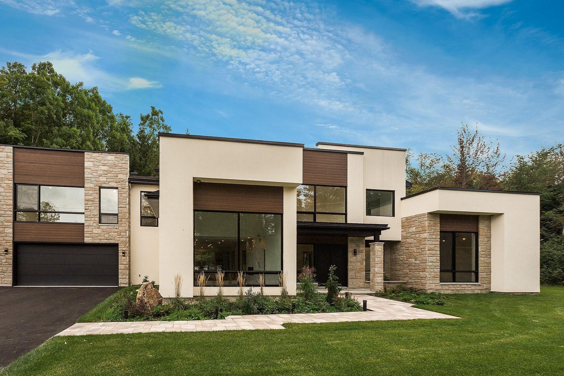 Single Family Homes for Sale at 800 Ch du Lac Millette 800 Ch. du Lac-Millette Saint-Sauveur, Quebec J0R1R3 Canada