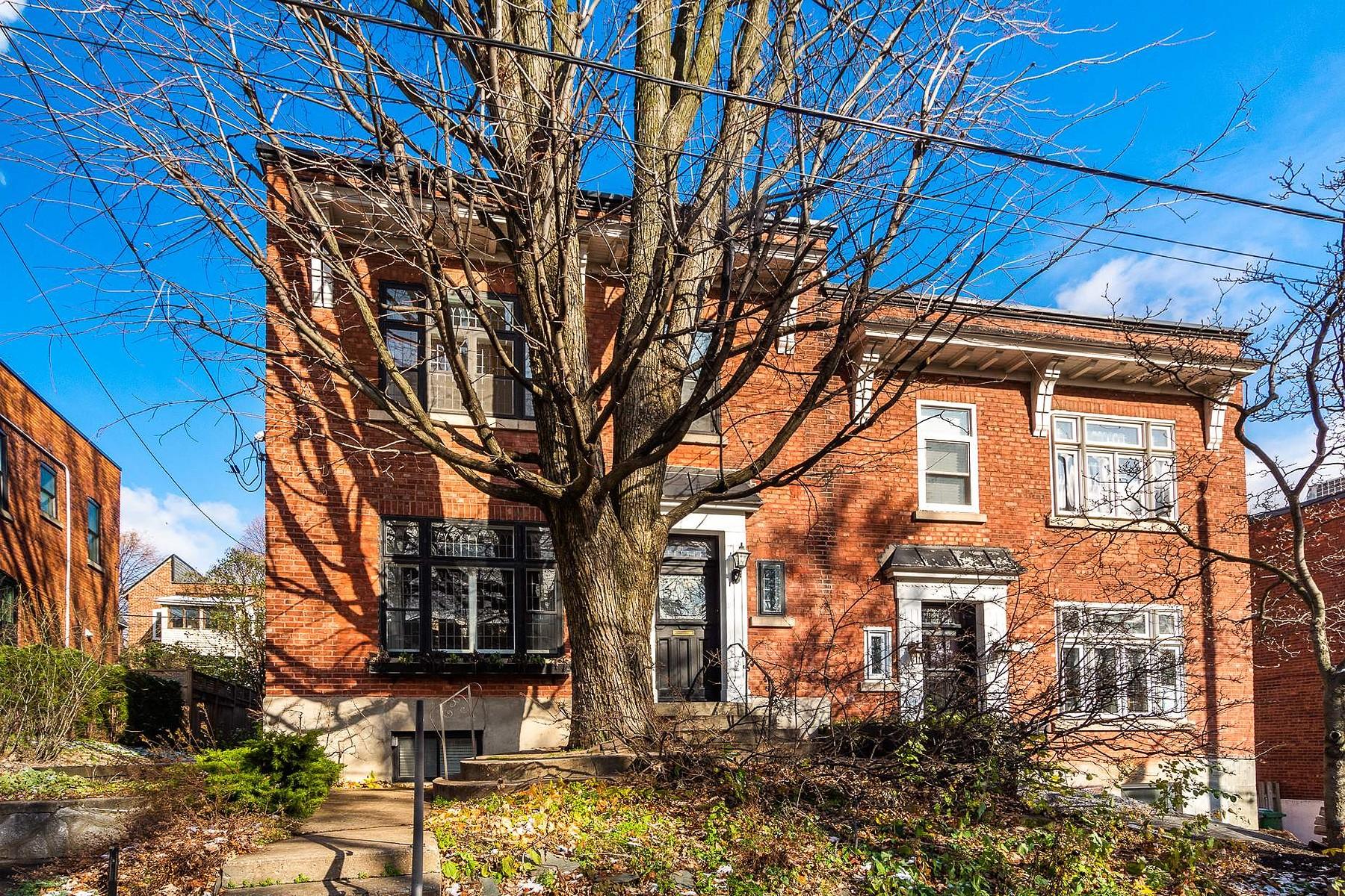 Single Family Homes for Sale at Côte-des-Neiges / Notre-Dame-de-Grâce, Montréal 3565 Av. Northcliffe Cote Des Neiges Notre Dame De Grace, Quebec H4A3K8 Canada