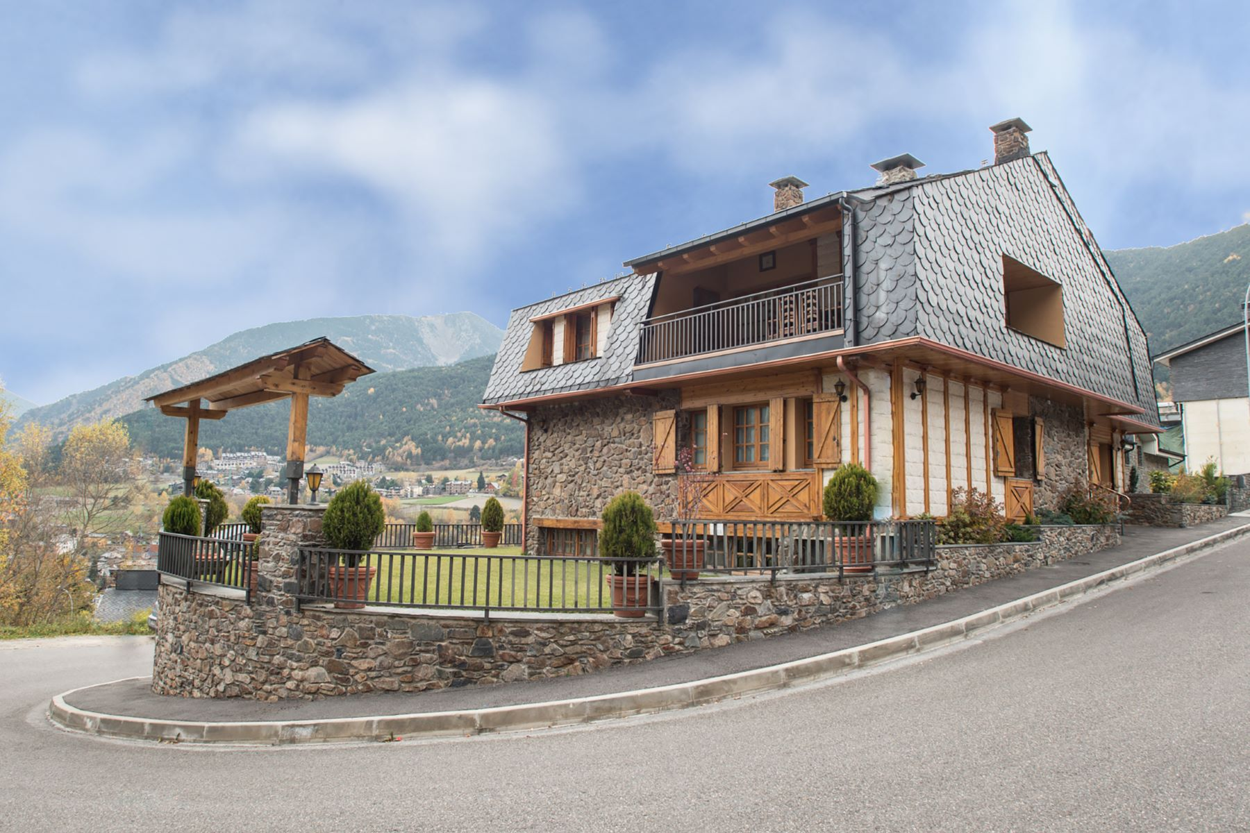 Single Family Homes for Sale at Chalet-Tower for sale in La Massana La Massana, La Massana AD400 Andorra