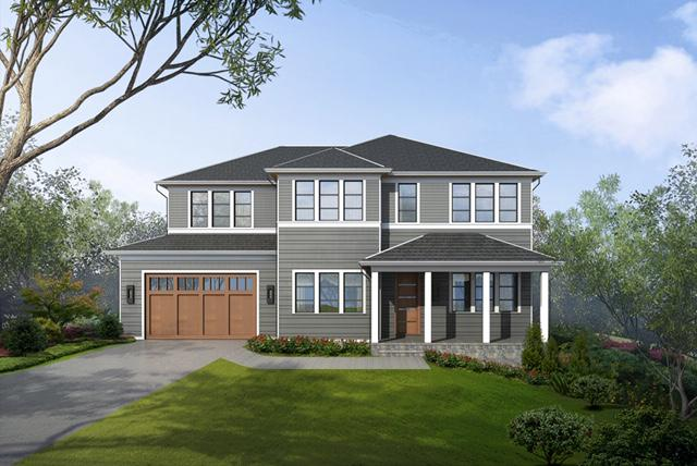 Single Family Homes for Active at 4824 Derussey Pkwy Chevy Chase, Maryland 20815 United States