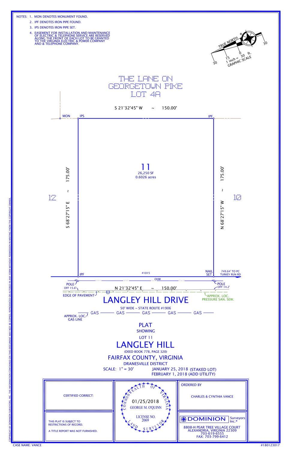 for Sale at 1015 Langley Hill Dr 1015 Langley Hill Dr McLean, Virginia 22101 United States