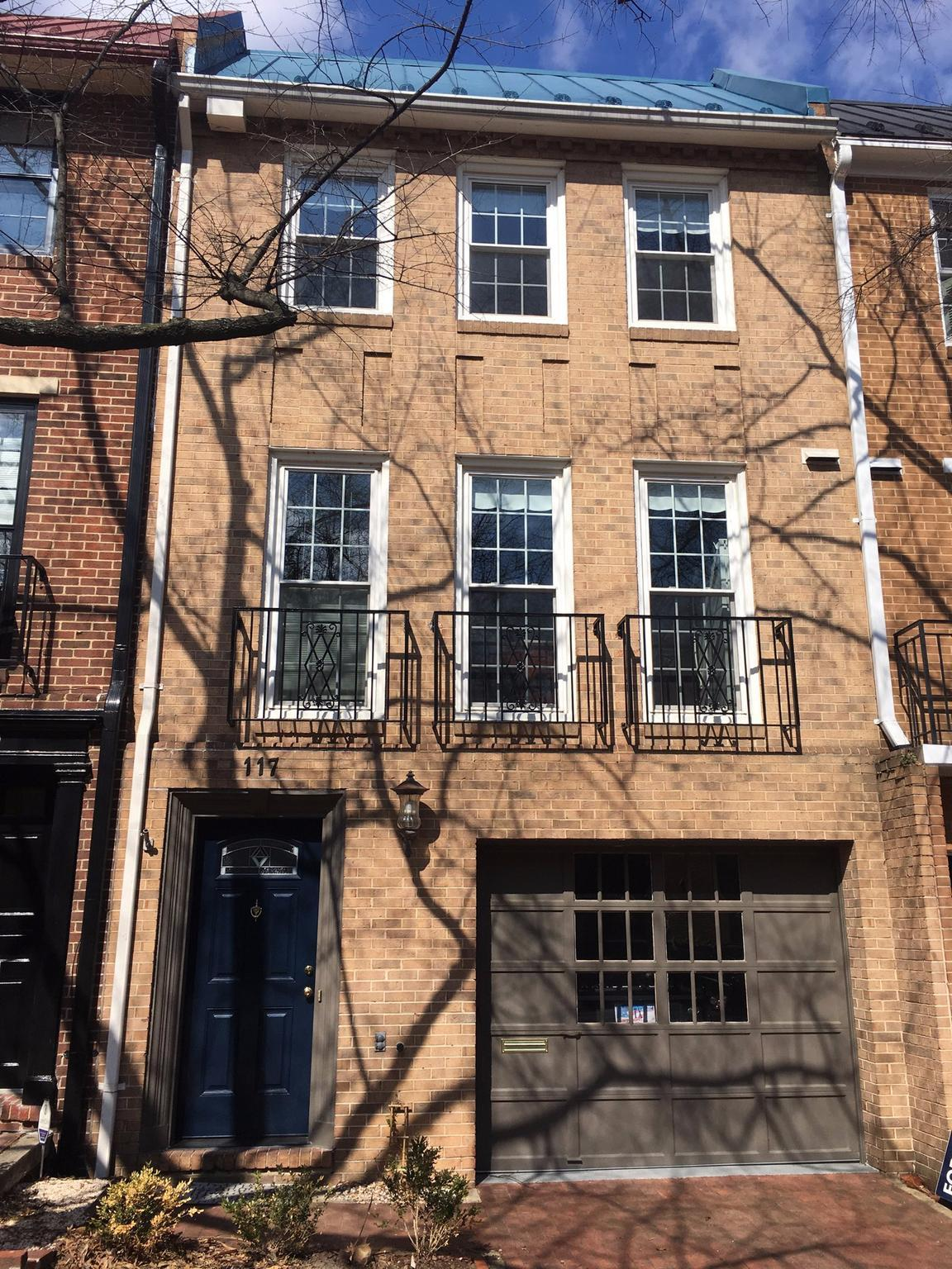Townhouse for Rent at 117 Princess St 117 Princess St Alexandria, Virginia 22314 United States
